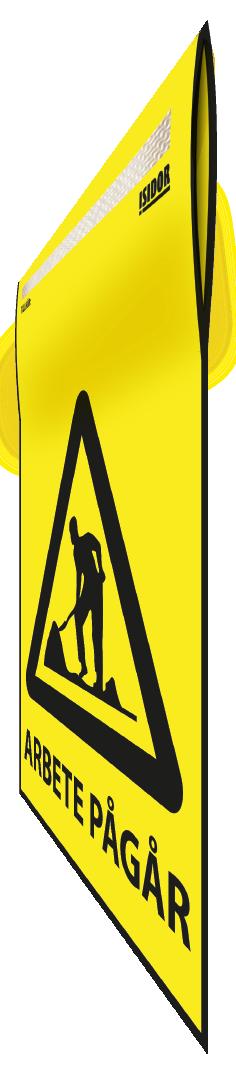 Flagga gul perspektiv Arbete pågår 1.png
