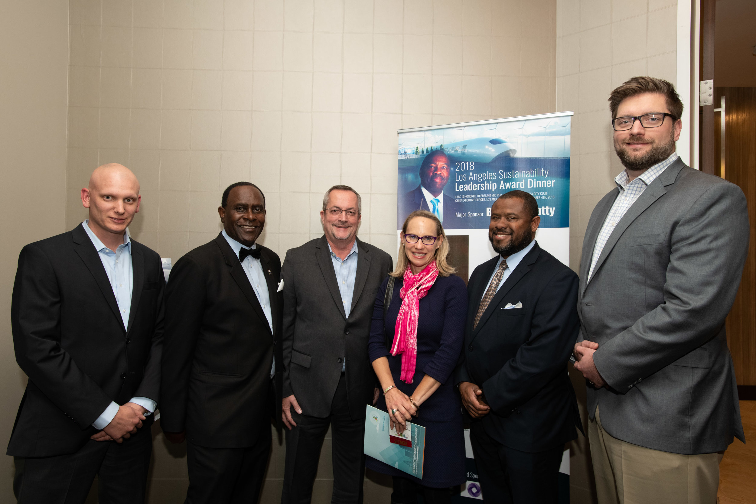 Pic 7 L-R  Kelly Phariss, Dr. Sherman Gay, Joe Reed, Tamara McCrossen-Orr, Shannon Lawrence and Mark Jennings