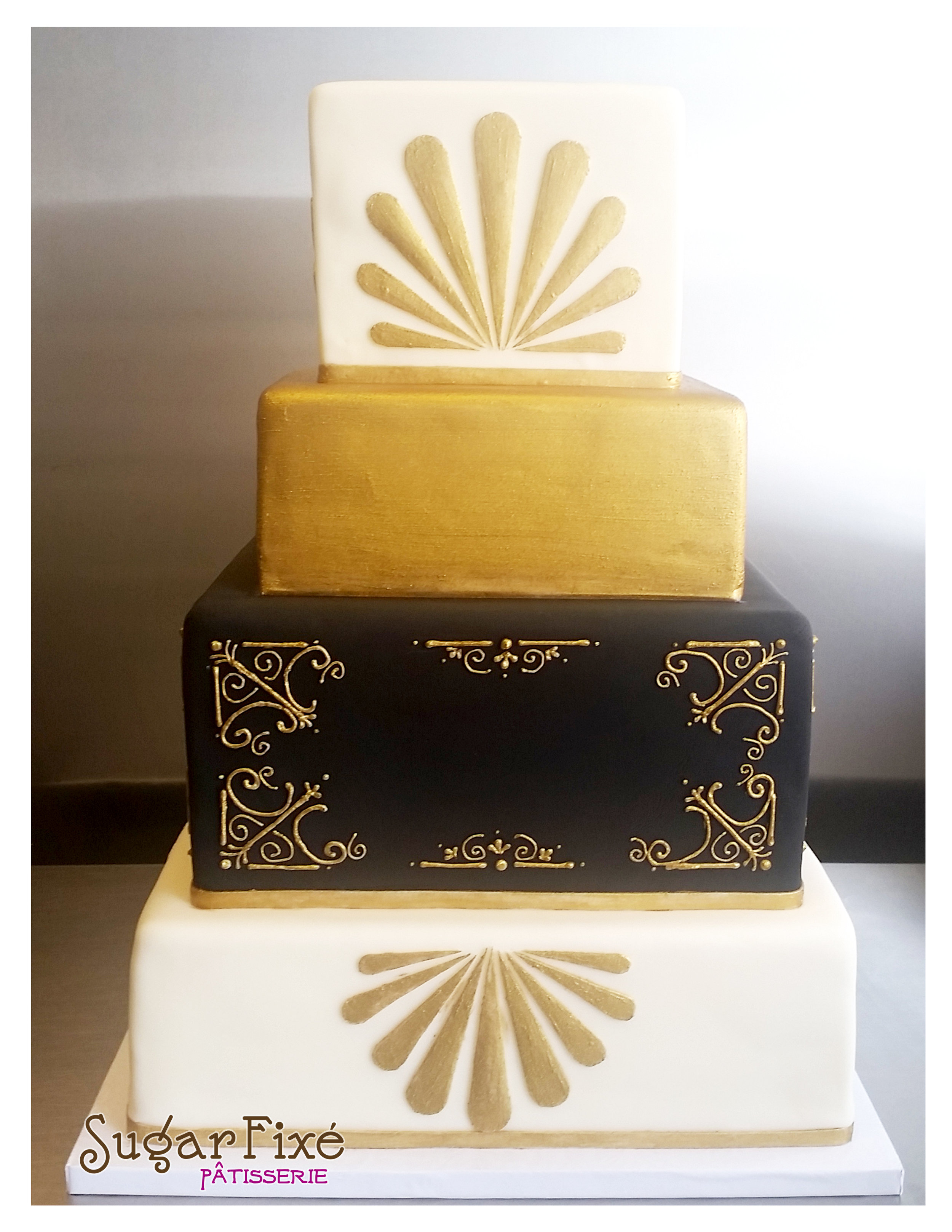 square gold and black art deco cake.jpg