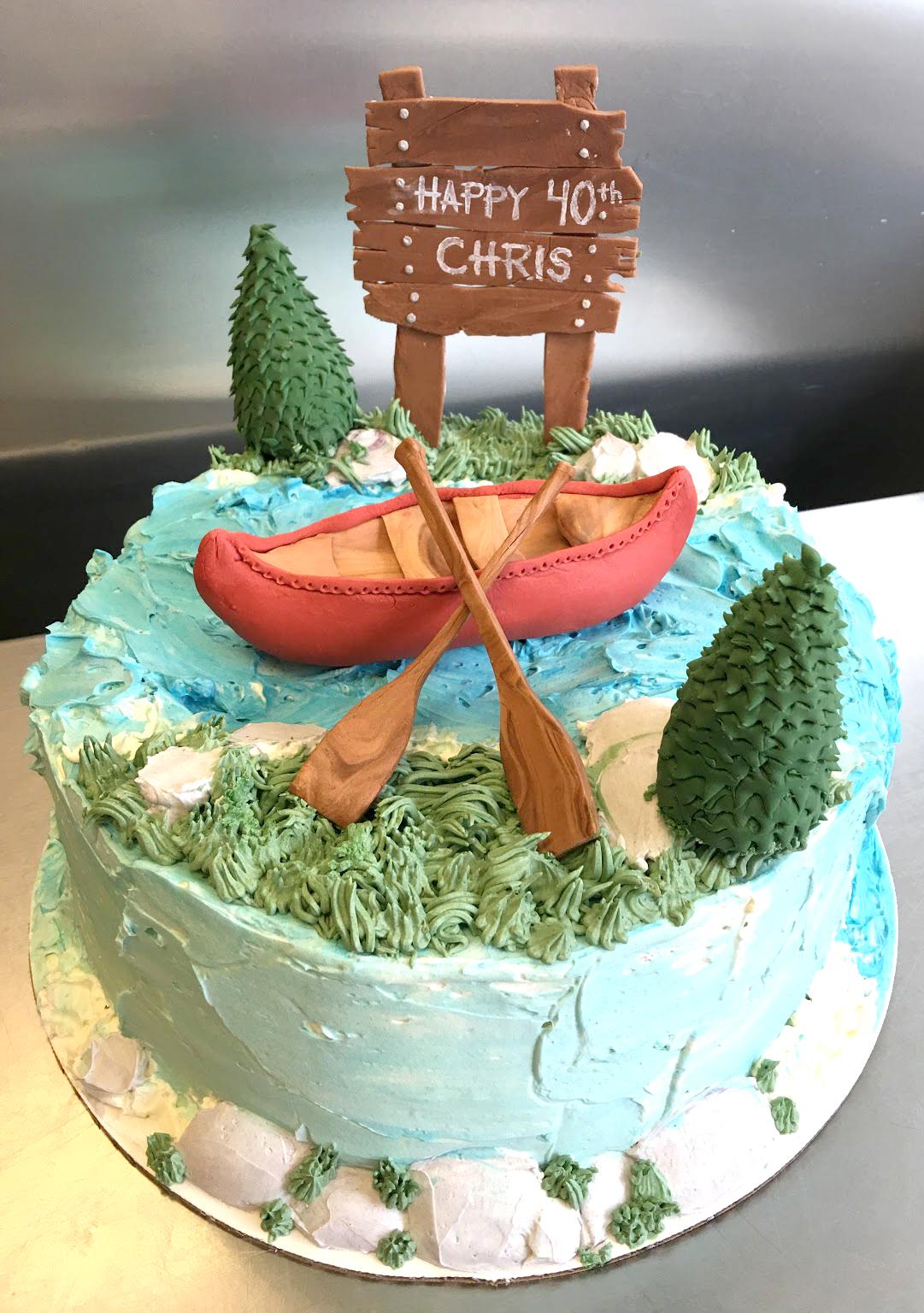 buttercream rive canoe cake.jpg
