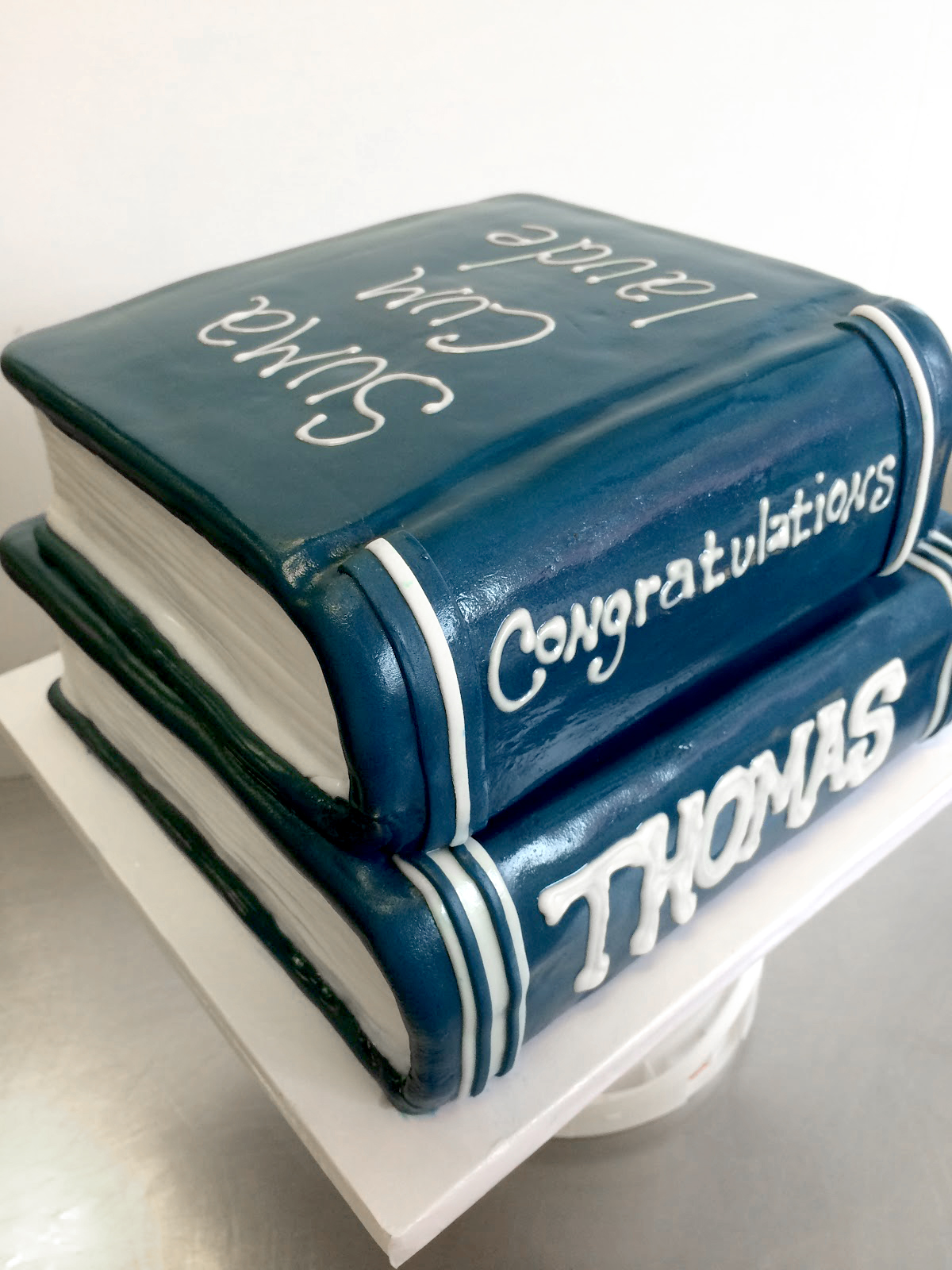 Scultped books cake.jpg