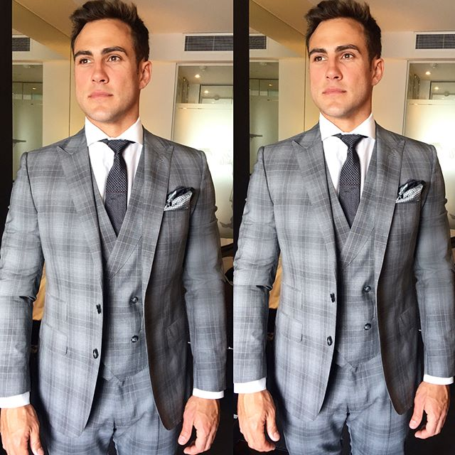 Check him ⚡️ @mattywilson #derbyday races ready 🐎 Killer suit from @farageaustralia  #mattwilson #derbyday