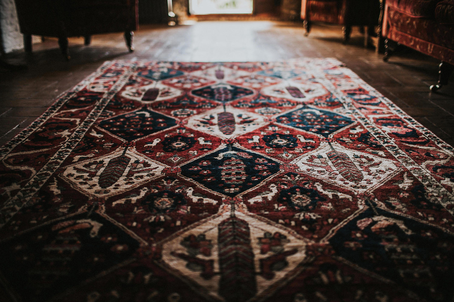 stylish carpet in casa felix wedding venue