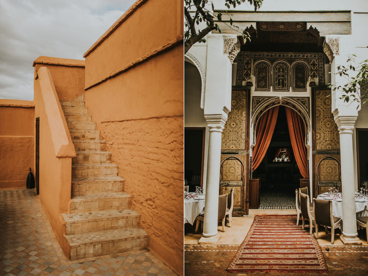 morocco marrakesh medina wedding restaurant