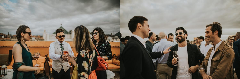 marrakesh wedding guests