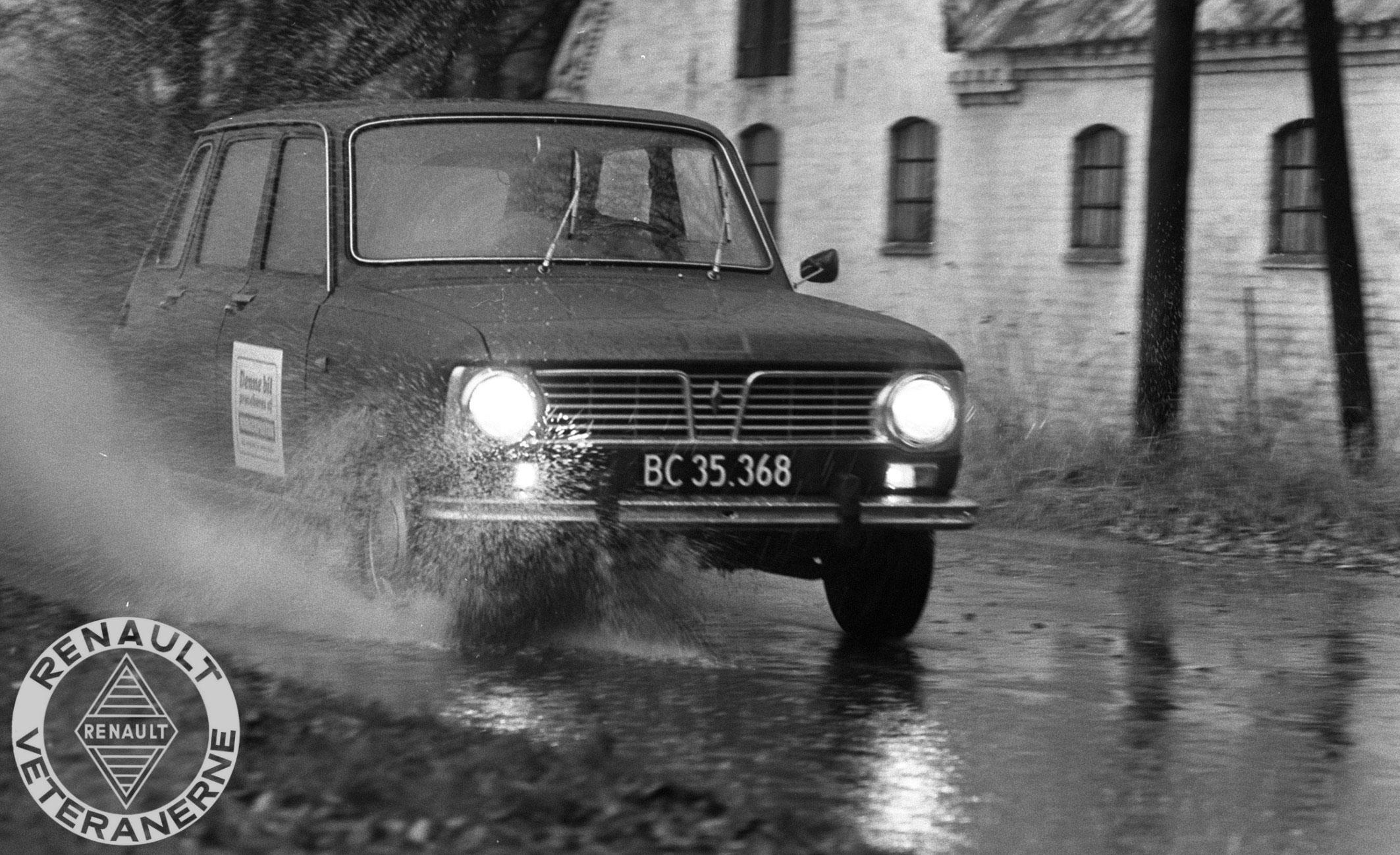 Prøvekørsel af en Renault 6L i 1969.