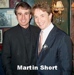 Martin Short wth Lou Serrano