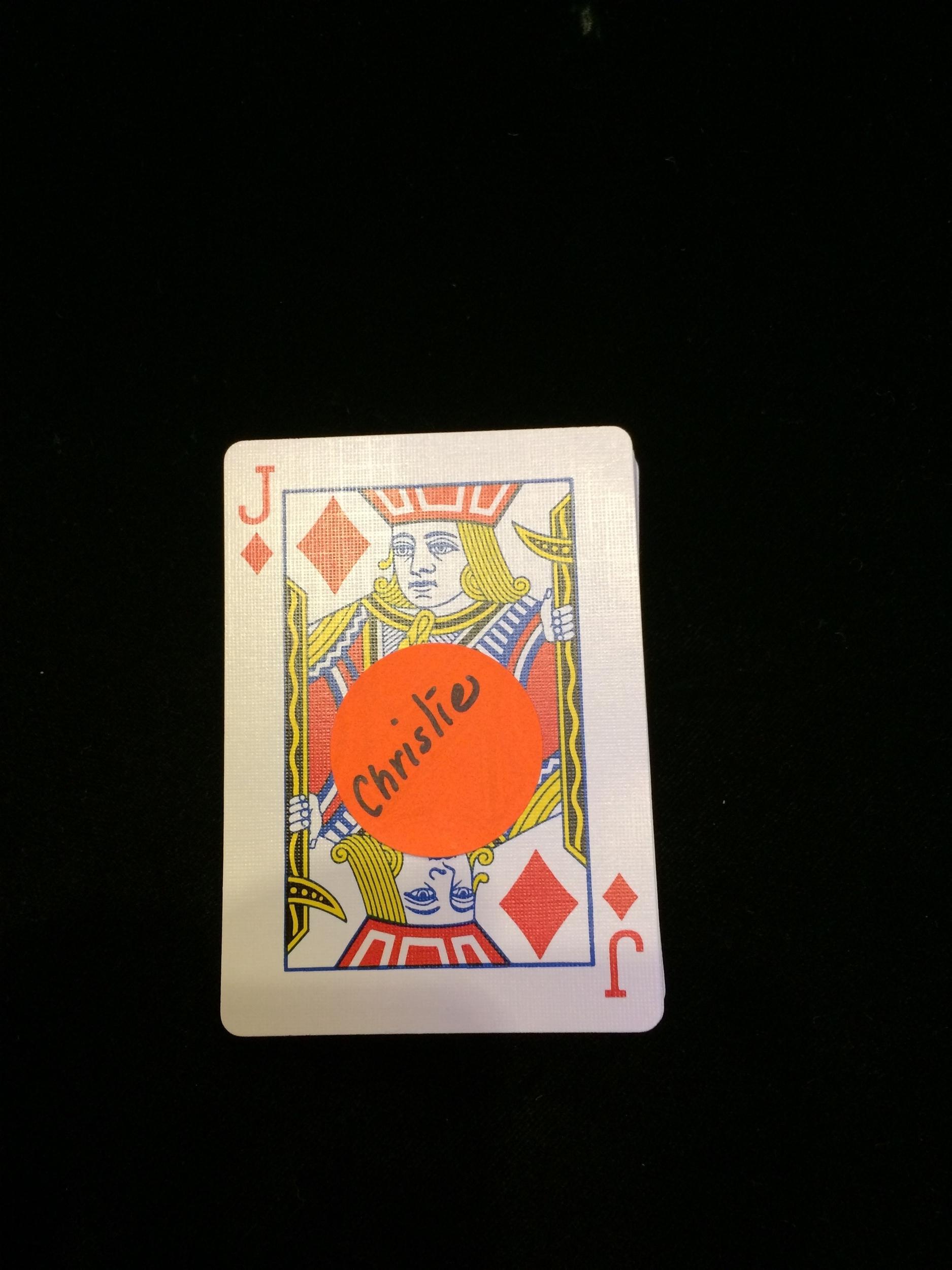 Christie Brinkley signed card