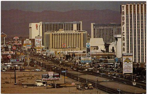 Las Vegas Strip 1980s