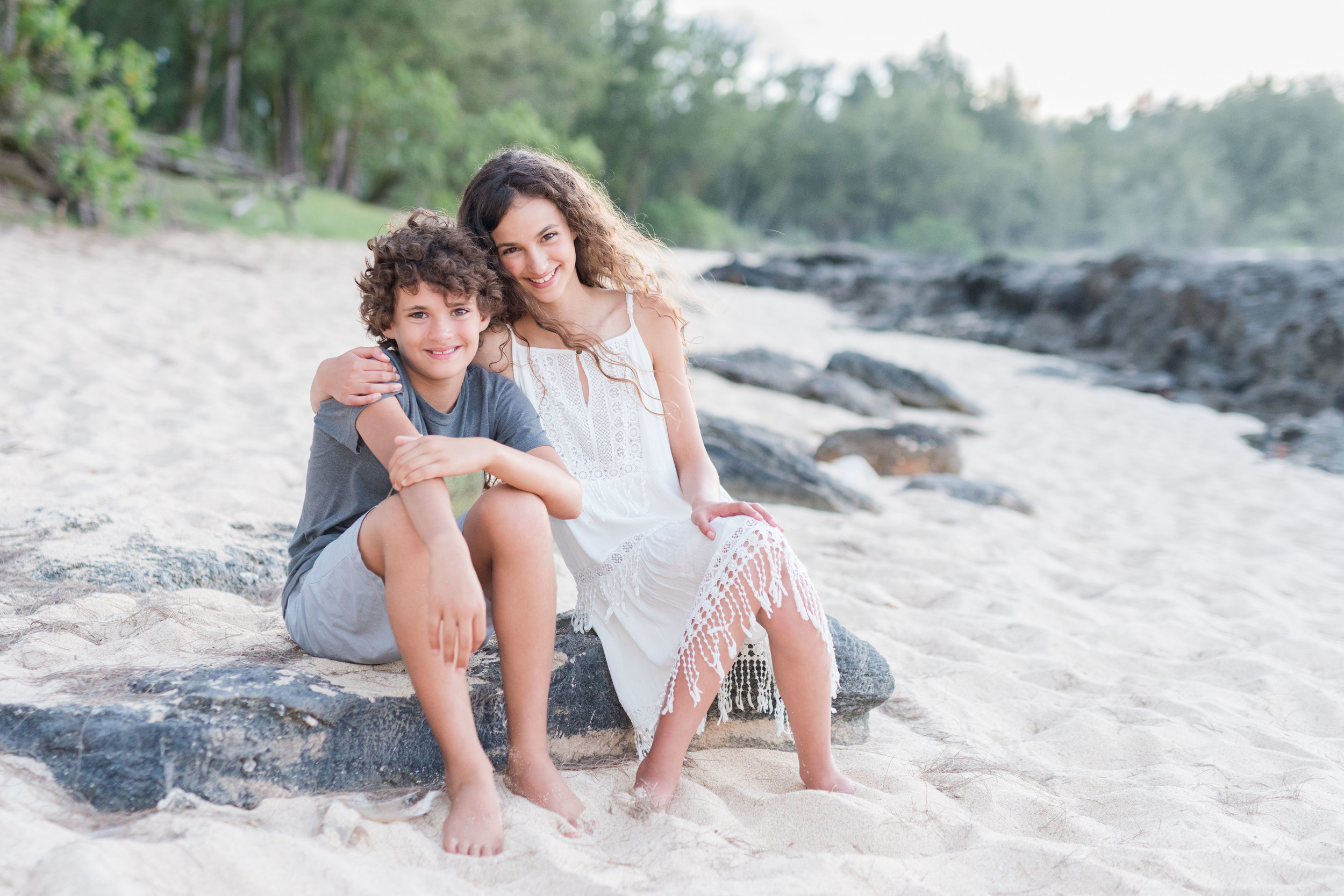 Oahu Family Photographers   Turtle Bay Resort Photographer