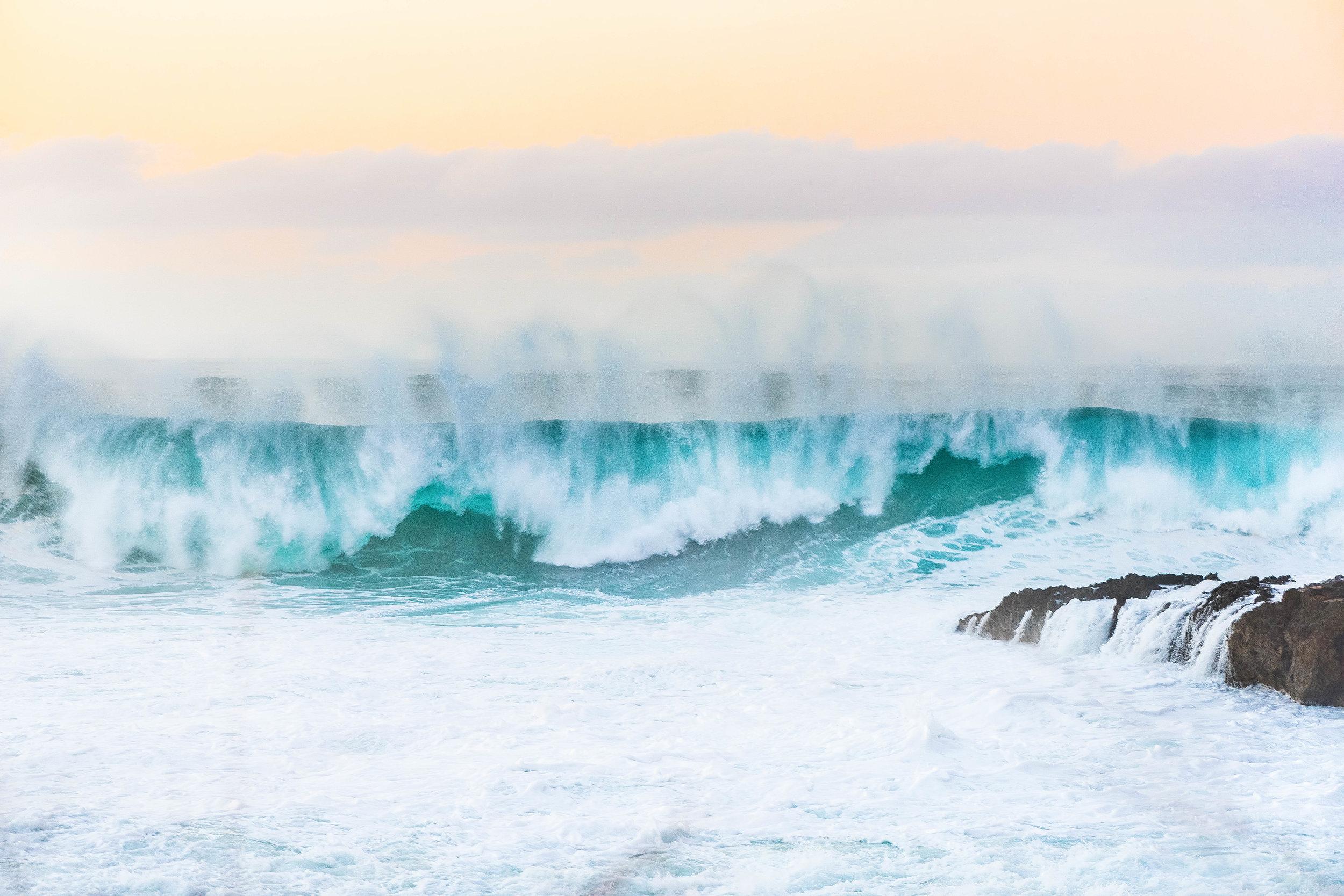 Sharks Cove, North Shore, Oahu - Big Wave Day 2016