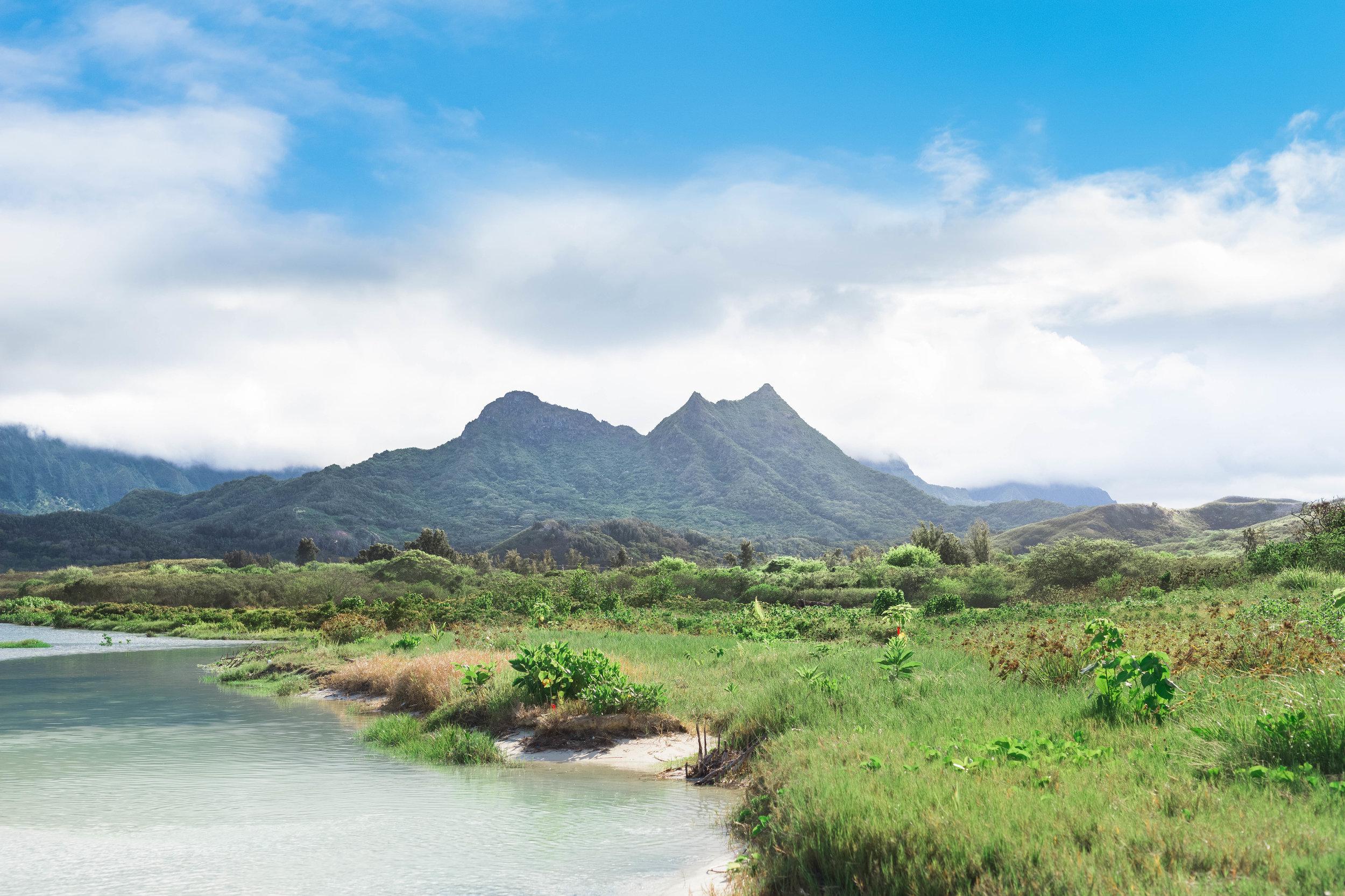 Bellows Beach Park, Oahu 2015