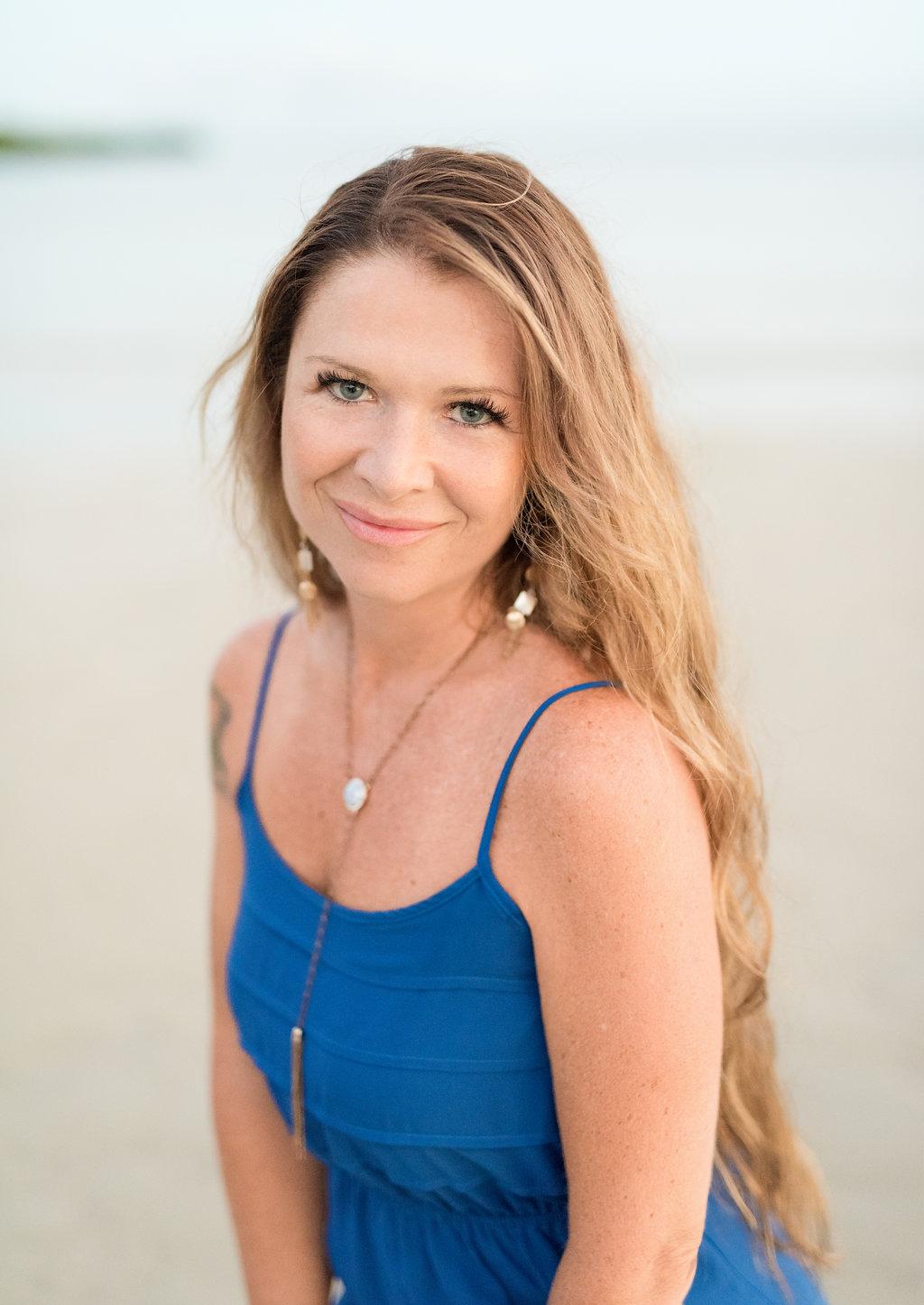 Honolulu Portrait Photographer | Oahu Branding Portraits | beach woman