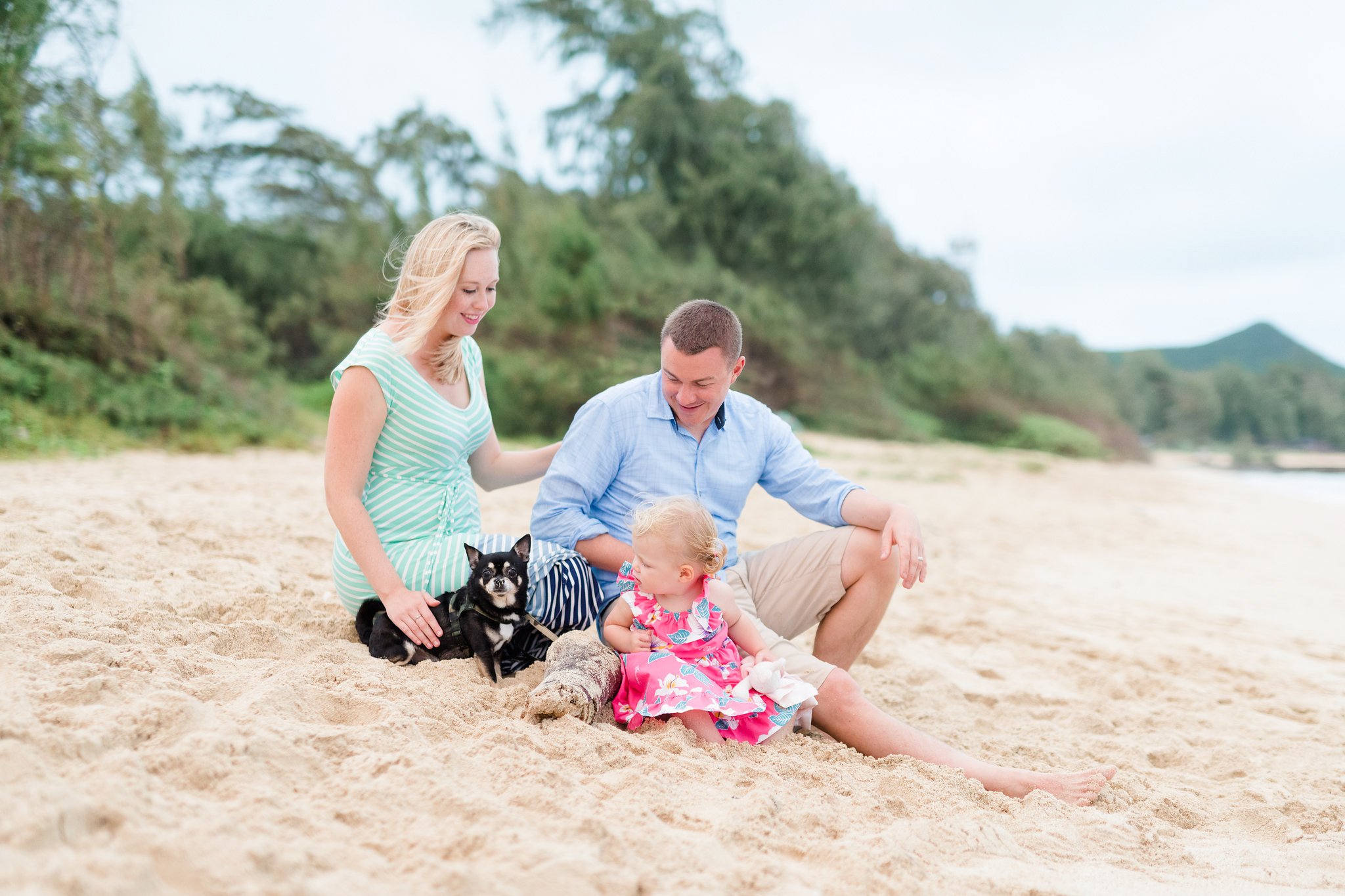 Oahu Family Beach Photography Session