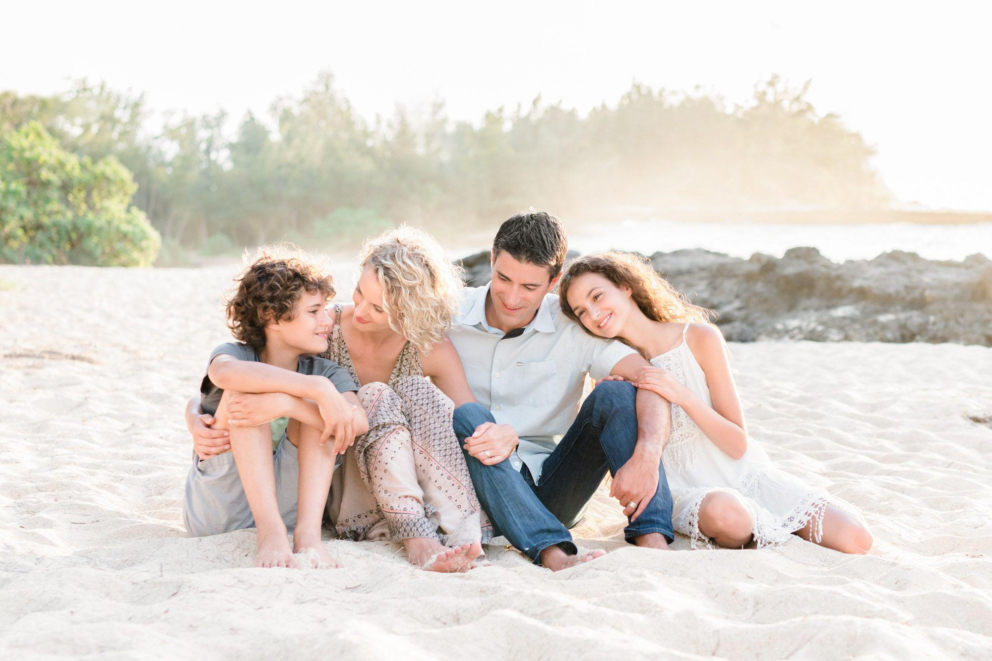 Oahu Family Beach Session | Honolulu Portrait Photography