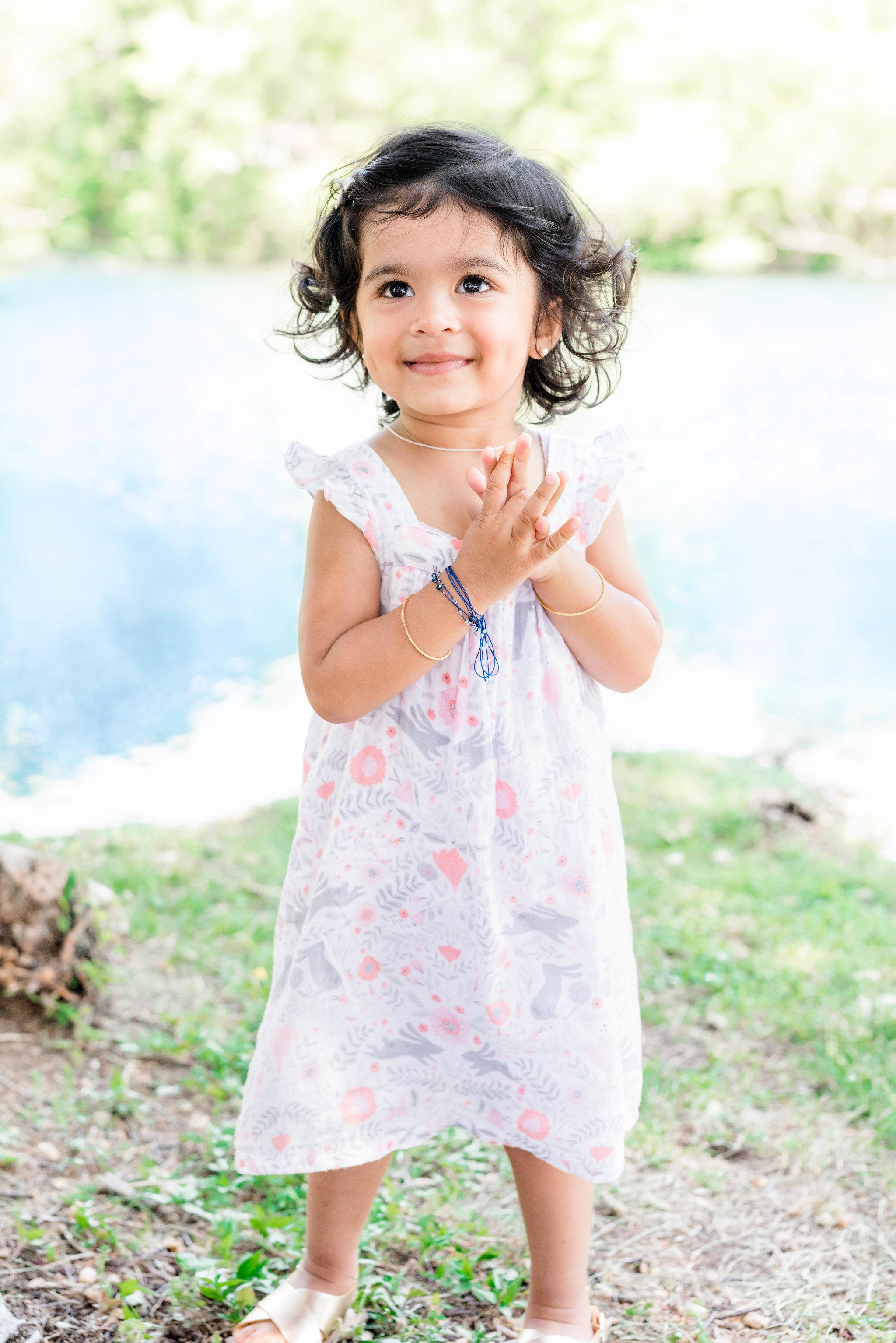 Oahu Child Photographers | Toddler Girl Portrait Session