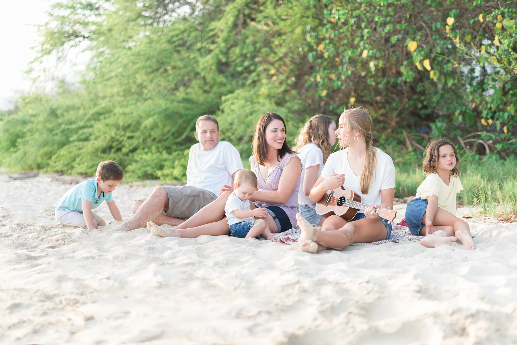 Oahu Family Photographers | Honolulu Beach Lifestyle Session