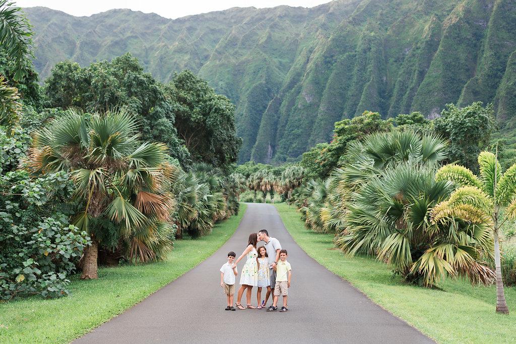 Oahu Family Photographers | Family Hawaii Mountain Session
