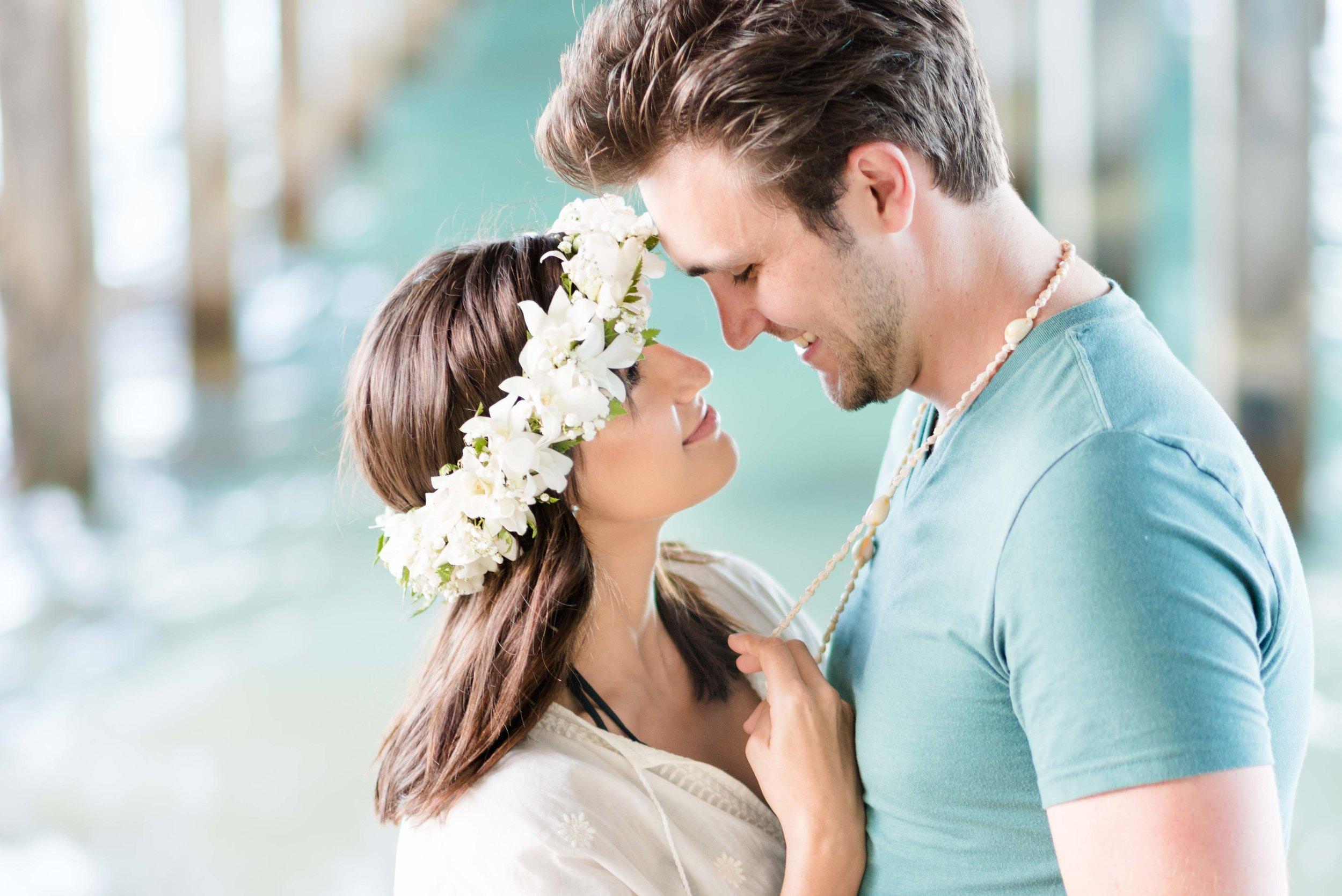 Oahu Couples Photographer | Makai Research Pier