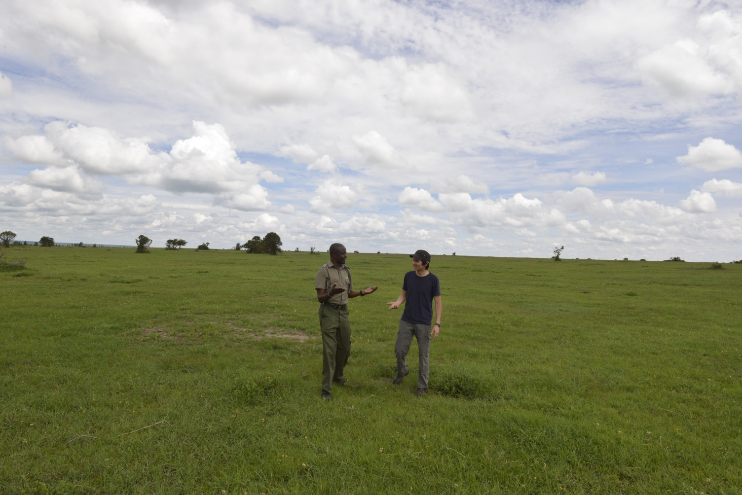 Out with the rhino patrol team, getting their perspective of life and work at Ol Pejeta