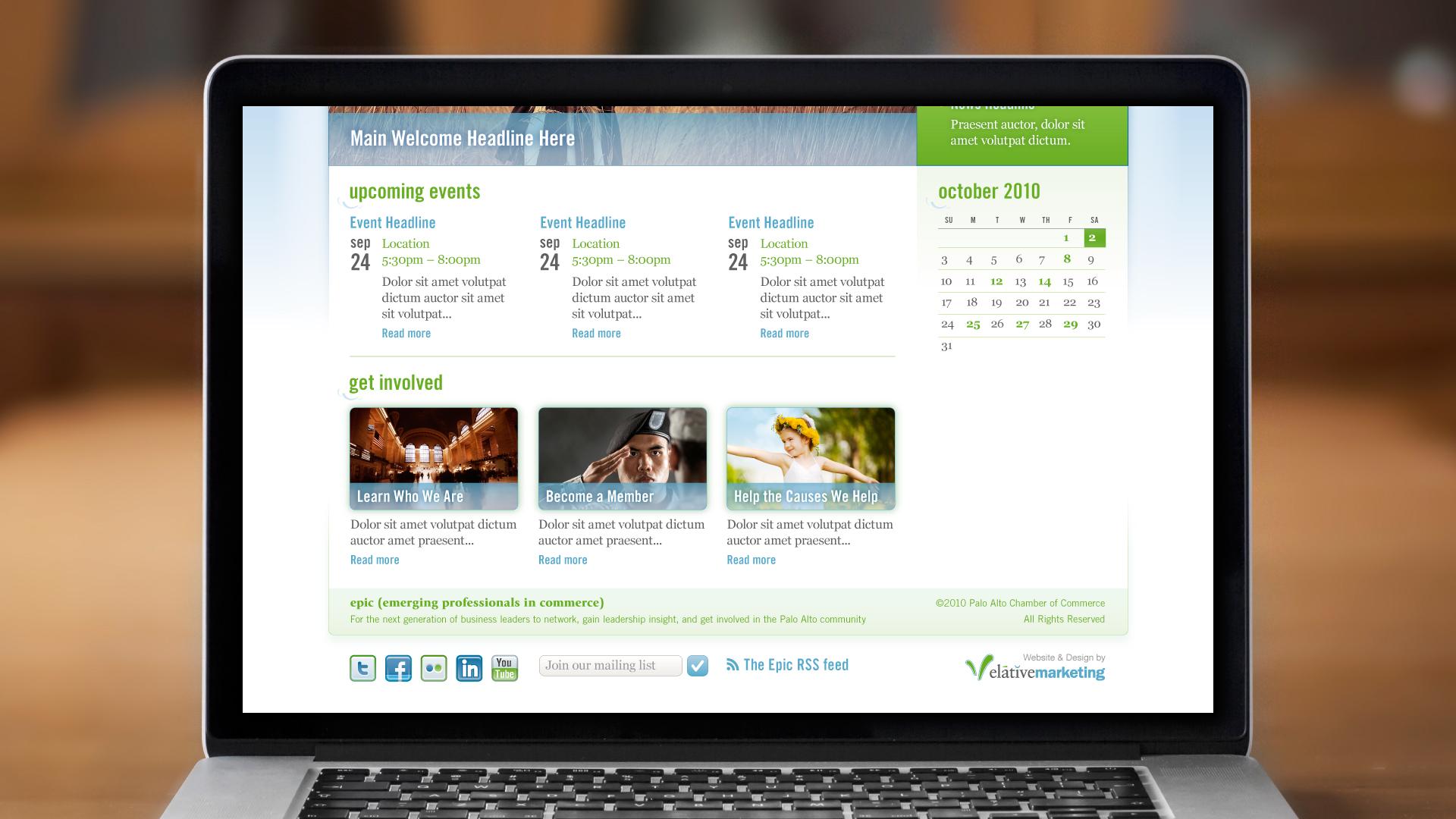 Web – Homepage (Bottom)