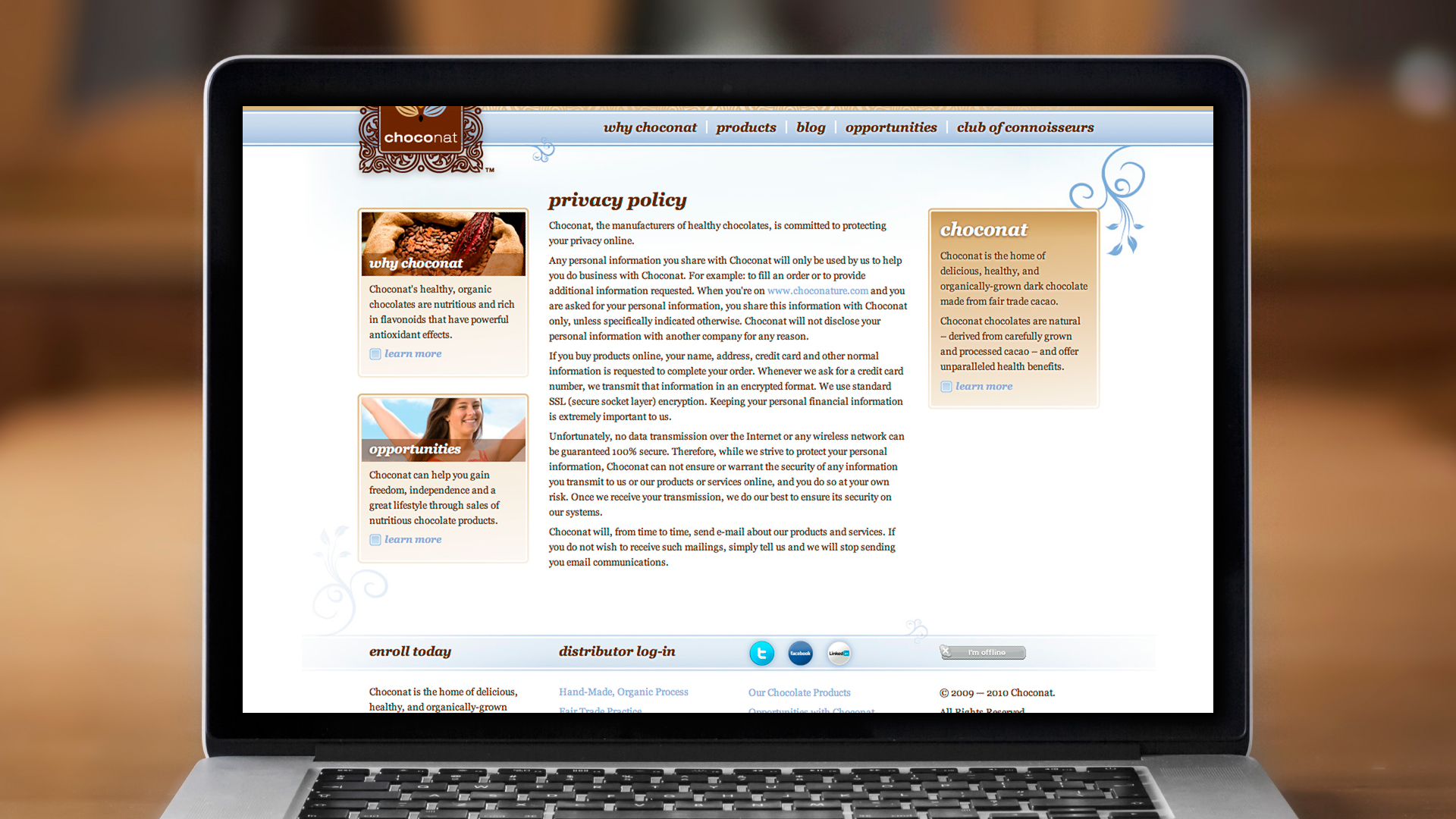 Web – Privacy Policy