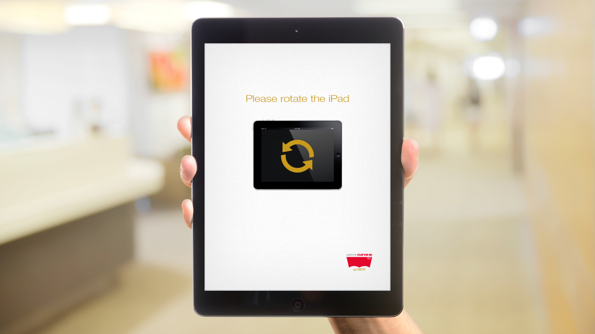 iPad Web App – Rotate Orientation