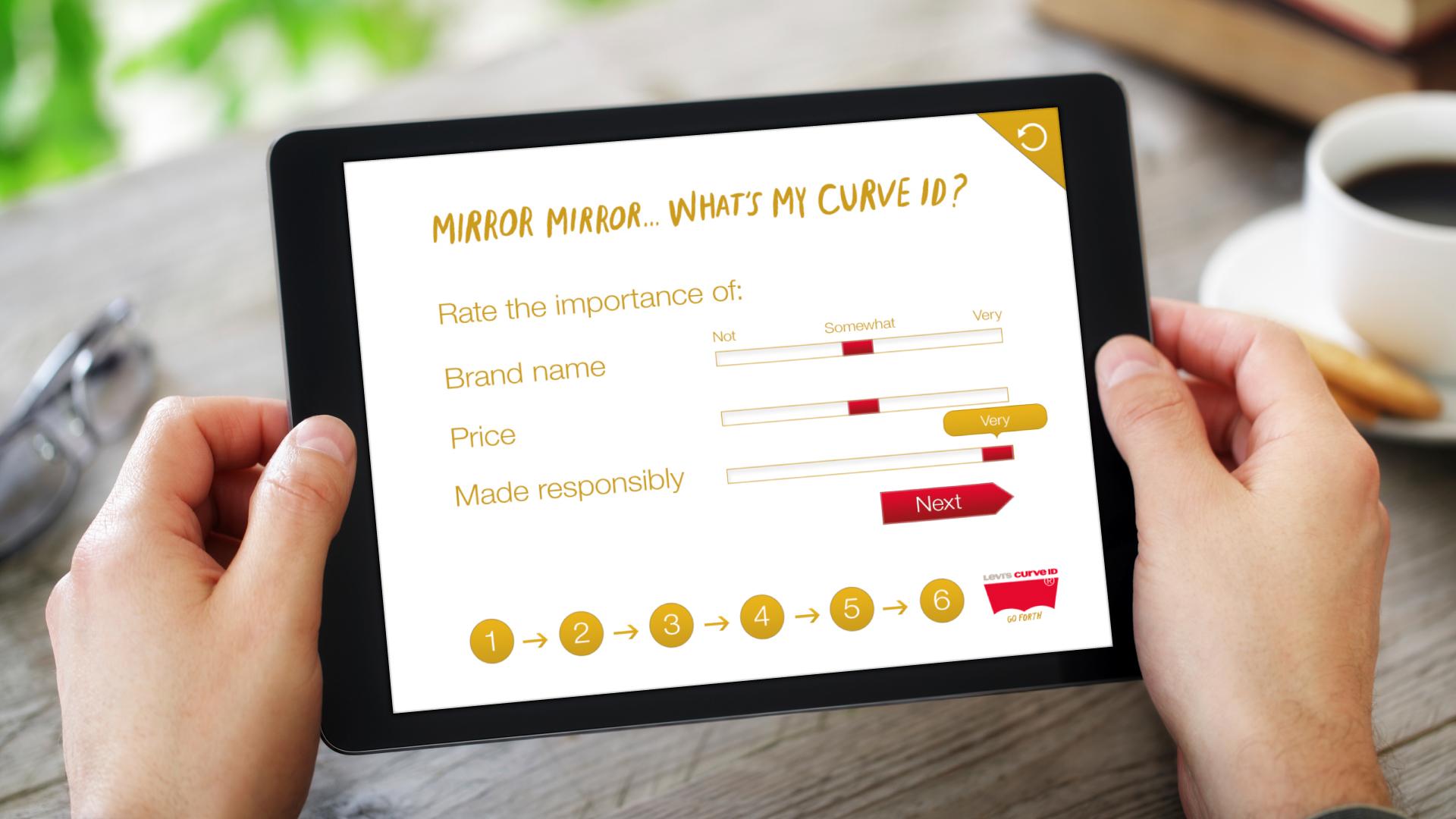 iPad Web App – Step 6 (Brand Priorities)