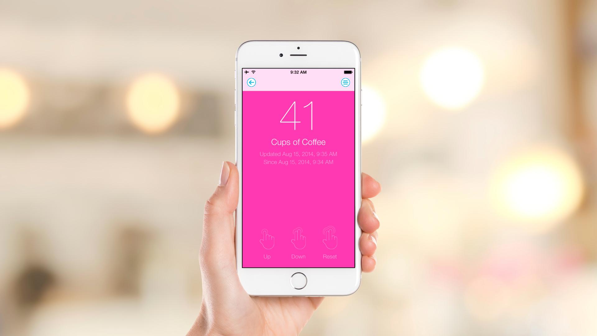 iOS App – Single Counter