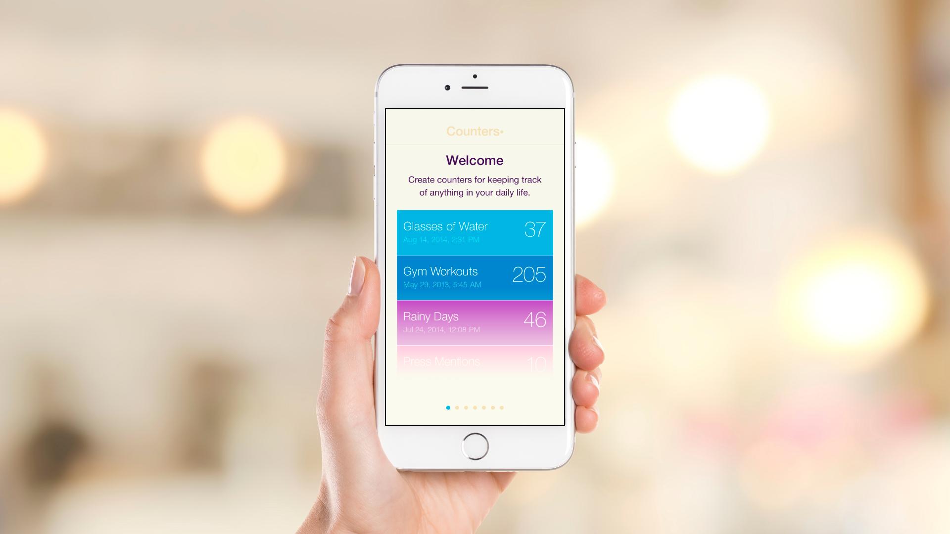 iOS App – Intro Slideshow – Slide 1