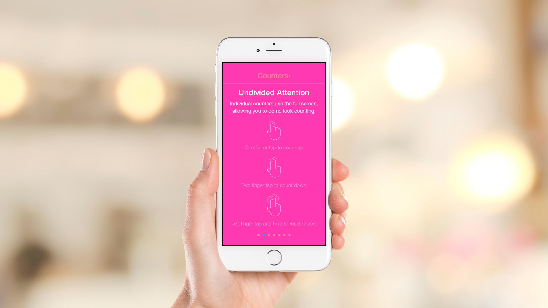 iOS App – Intro Slideshow – Slide 2