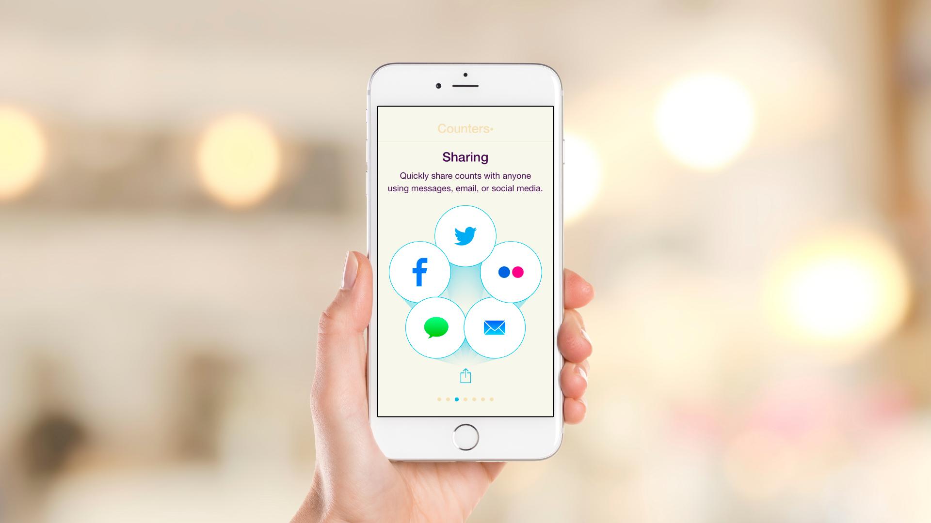 iOS App – Intro Slideshow – Slide 3