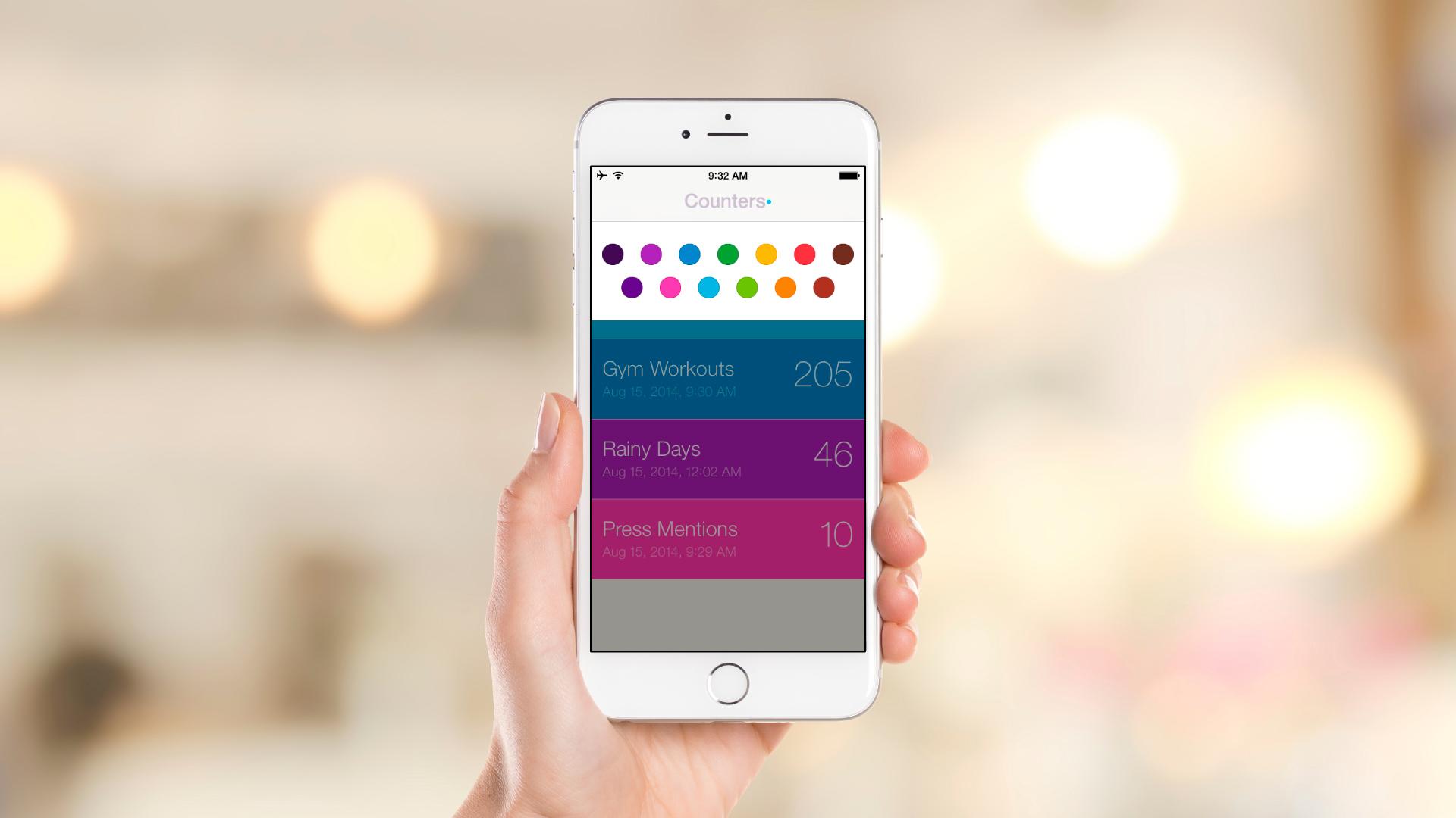 iOS App – Color Filter