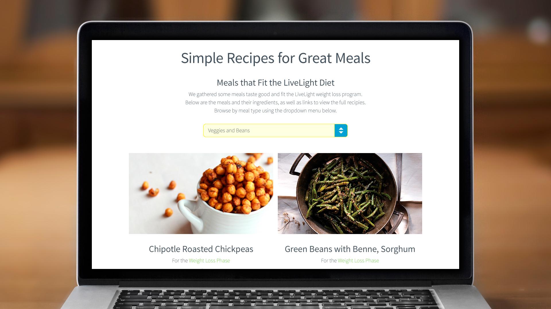 Web – Recipes