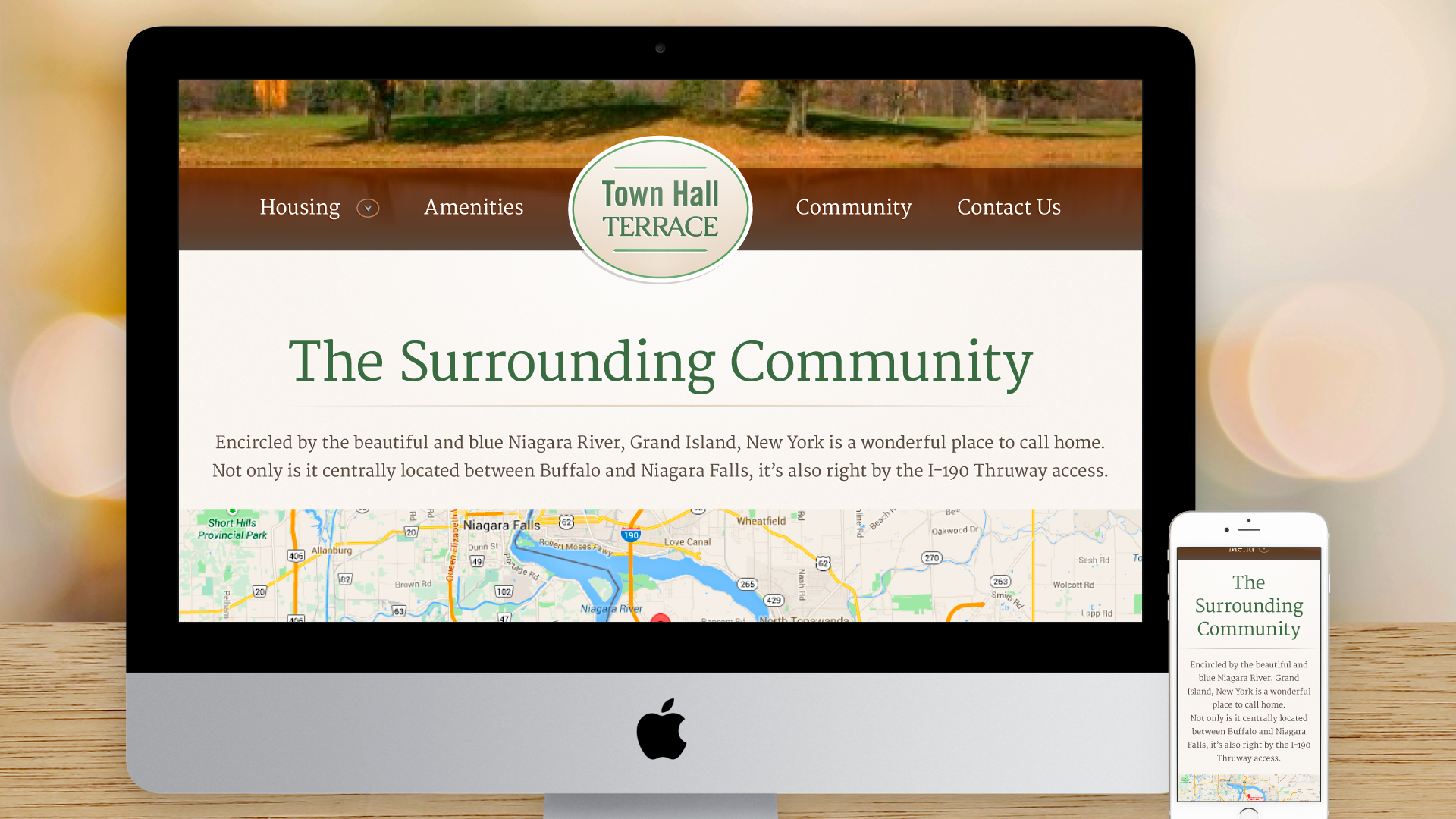 Responsive Website – Community