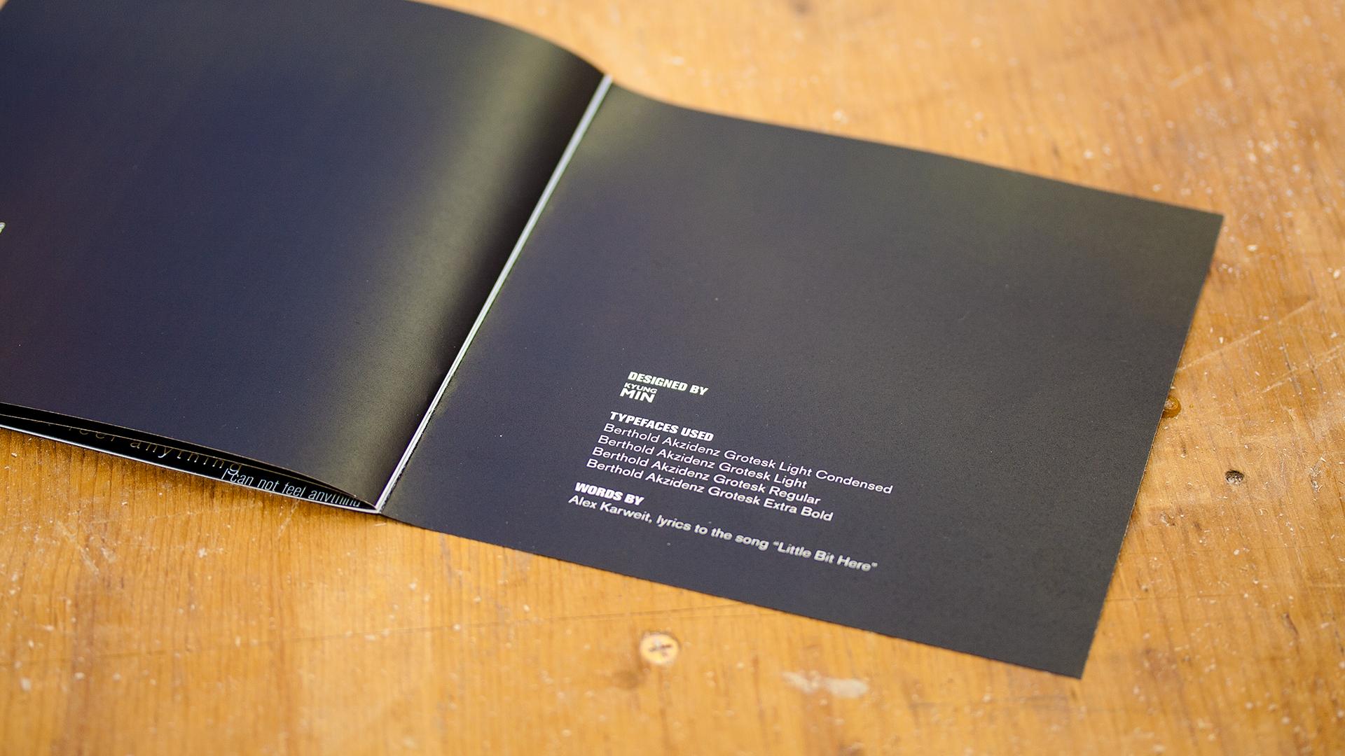 Print – Lyric Book – End