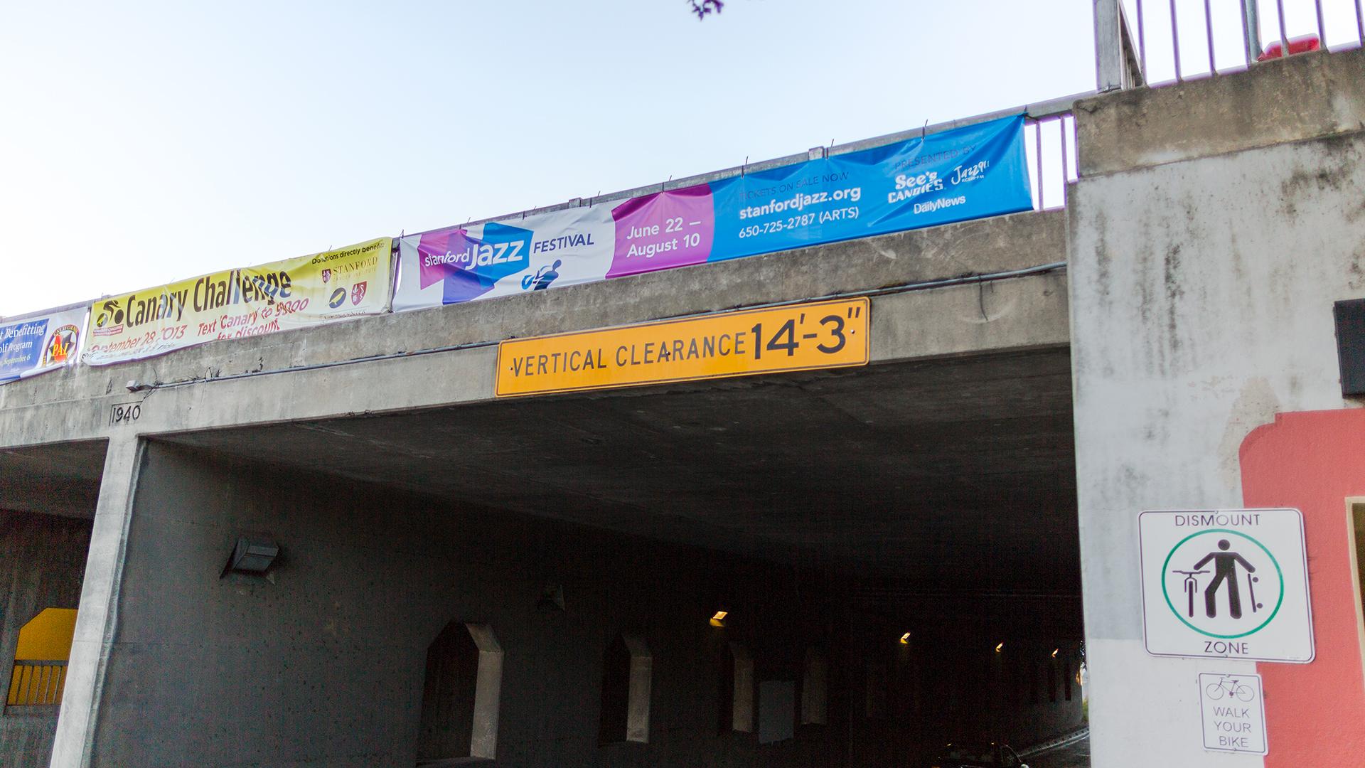 Print – Festival – Overpass Banner
