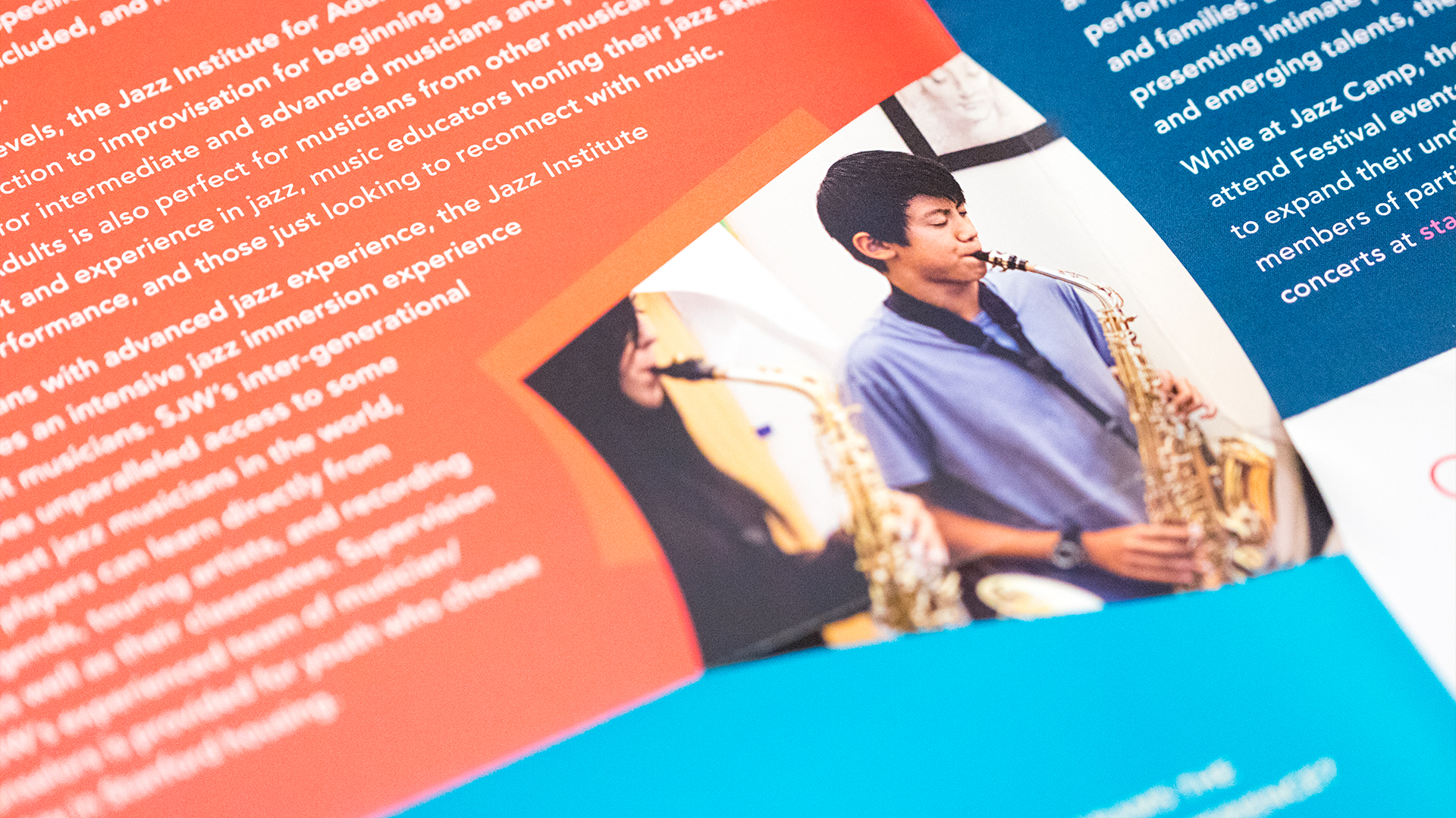 Print – Workshop Mailer – Panels Side (Jazz Institute Close-Up)