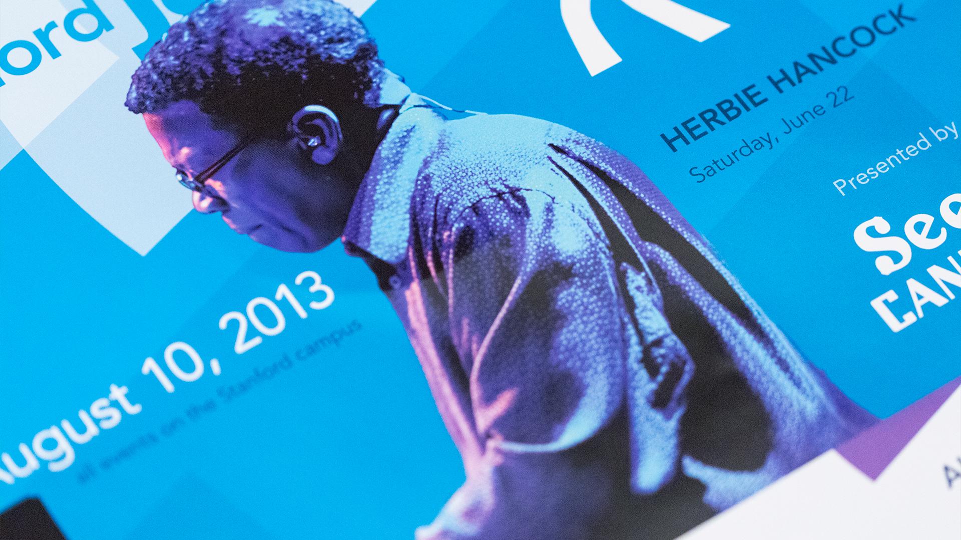 Print – Festival Flyers (Herbie Hancock Close-Up)