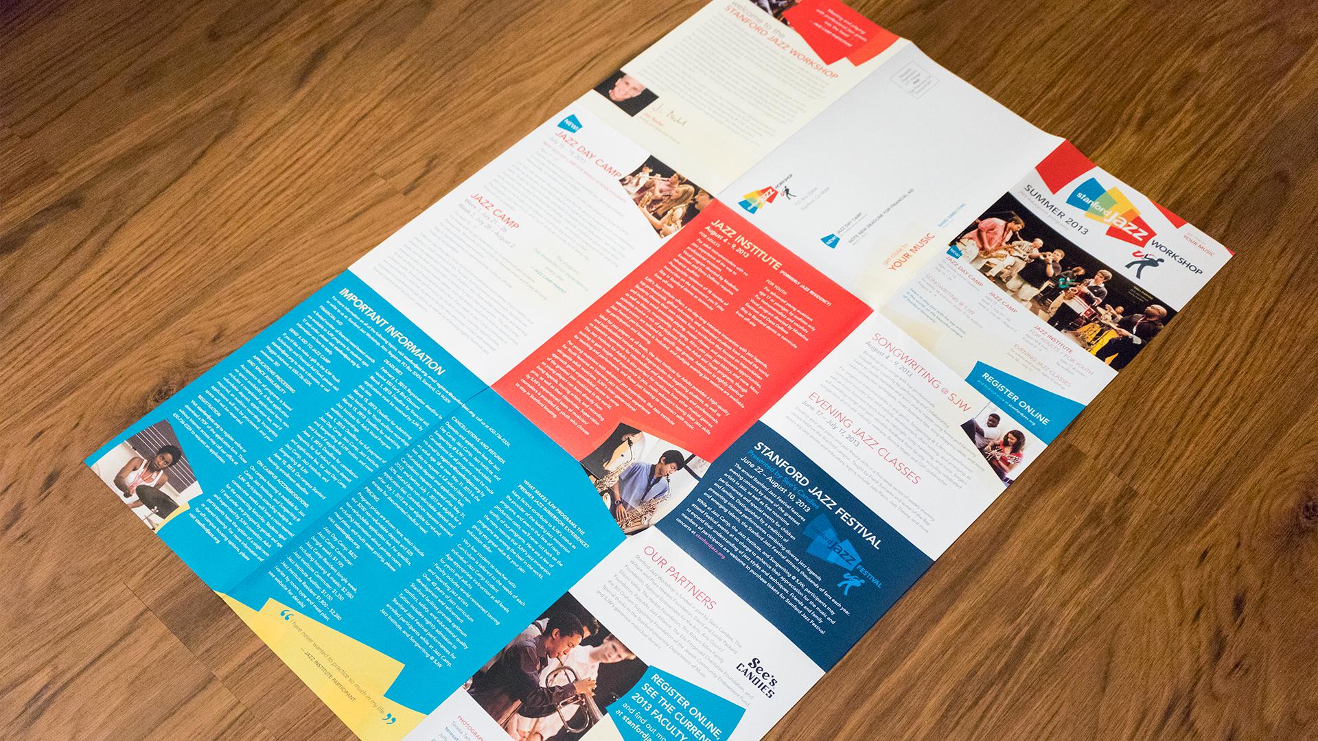 Print – Workshop Mailer – Panels Side