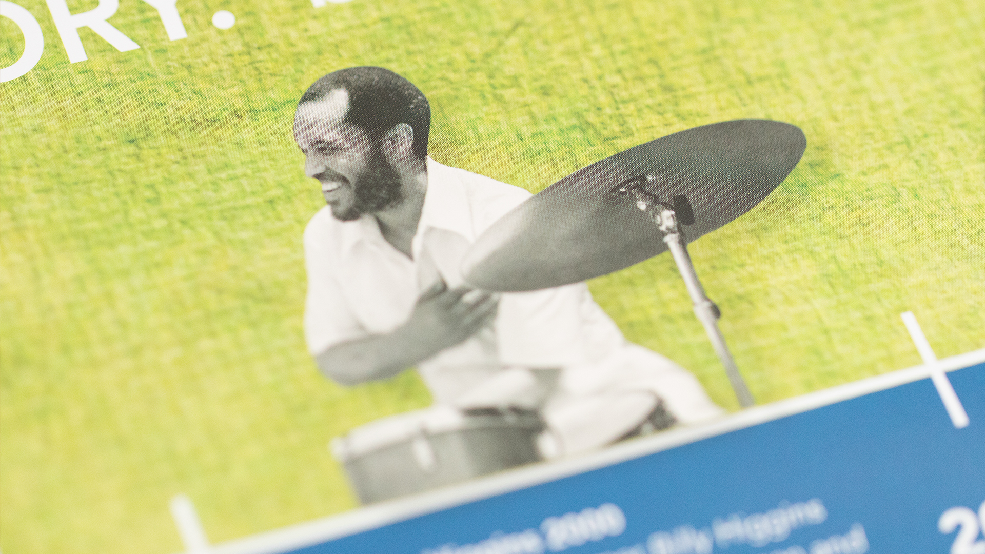 Print – Workshop Mailer – Poster Side (Billy Higgins Close-Up)