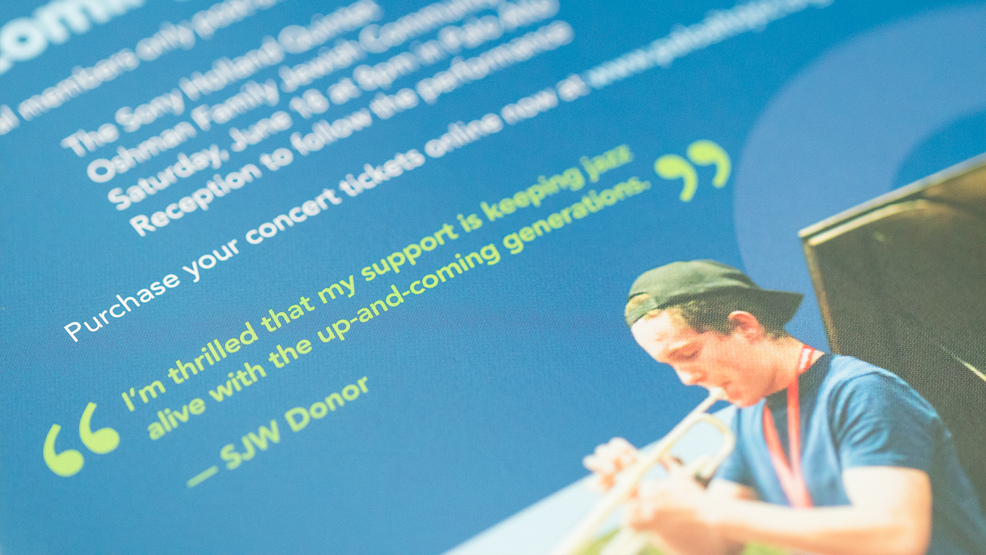 Print – Donor Mailer (Quote Close-Up)