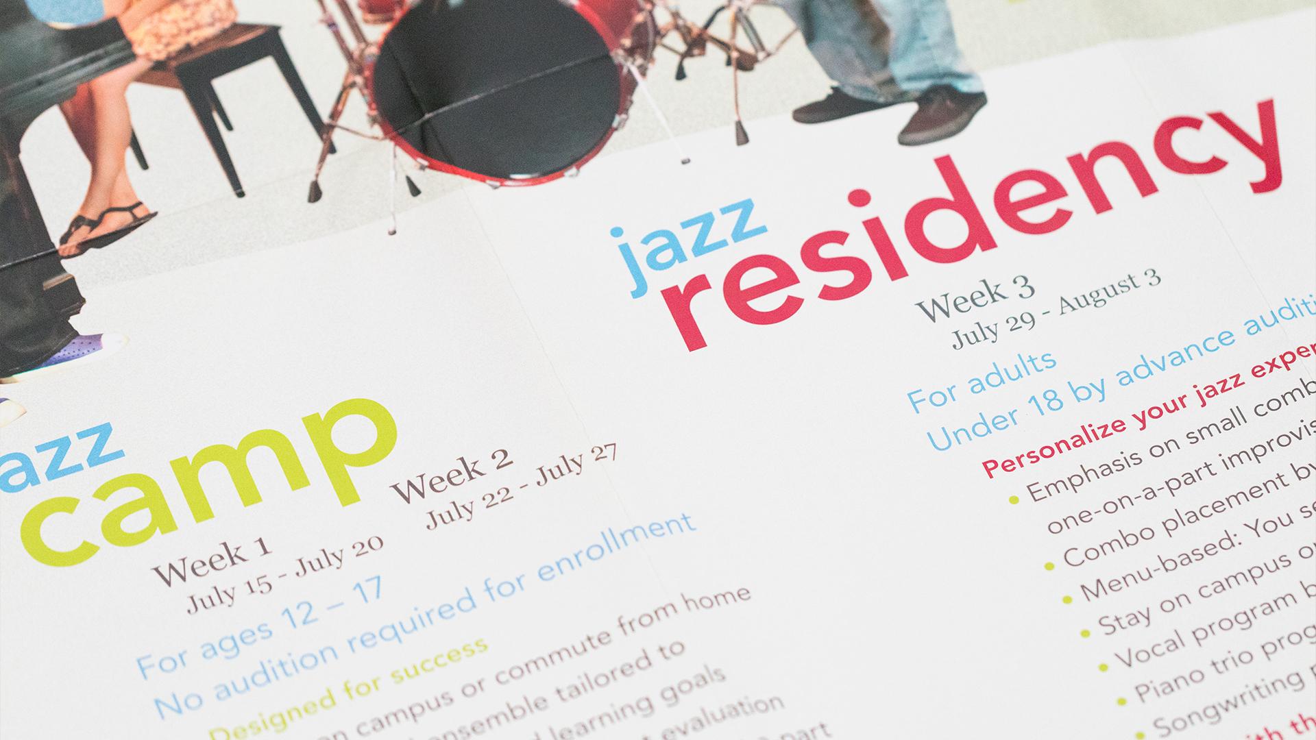 Print – Workshop Mailer – Poster Side (Programs Close-Up)