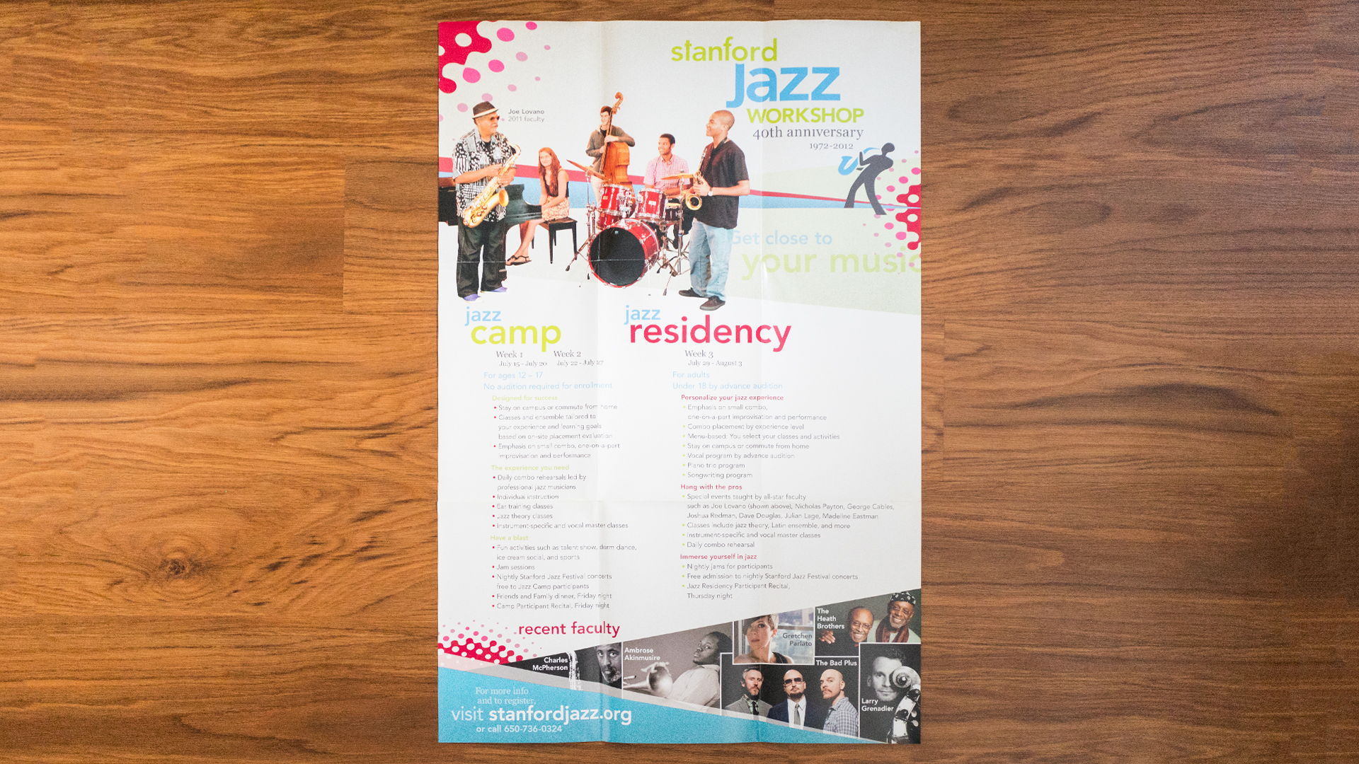 Print – Workshop Mailer – Poster Side