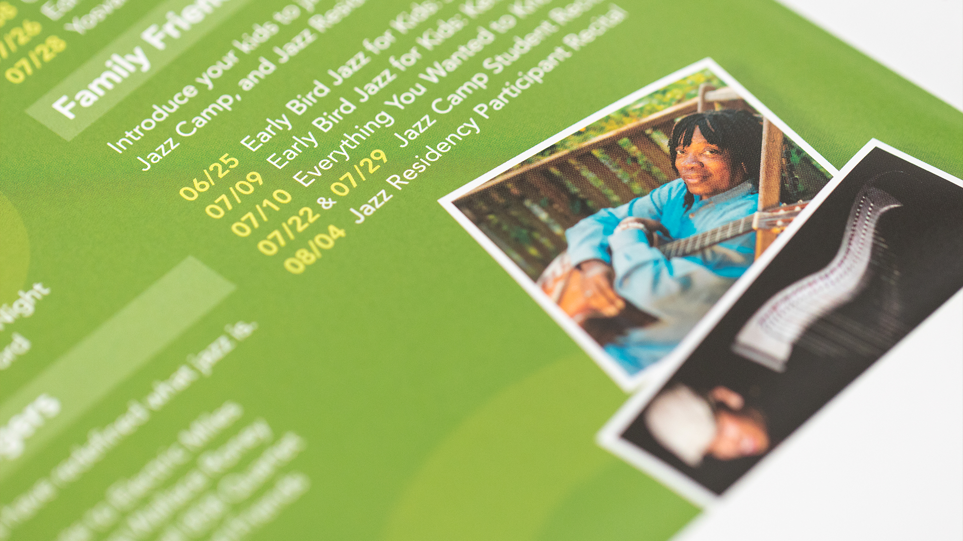 Print – Festival Mailer – Panel Side (Get Close to Your Music Close-Up)