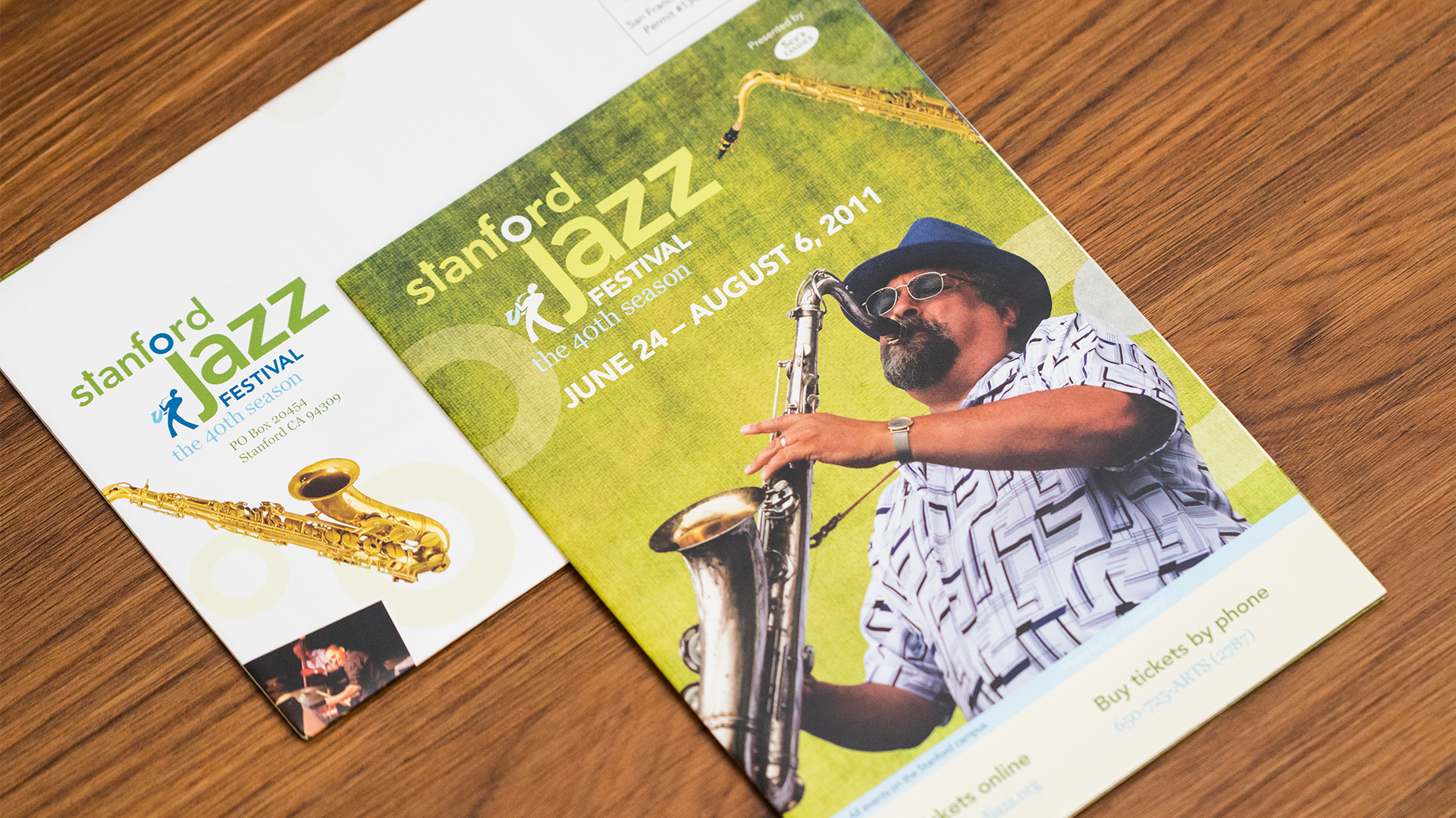 Print – Festival Mailer – Poster Side (Jazz Residency Recital Close-Up)
