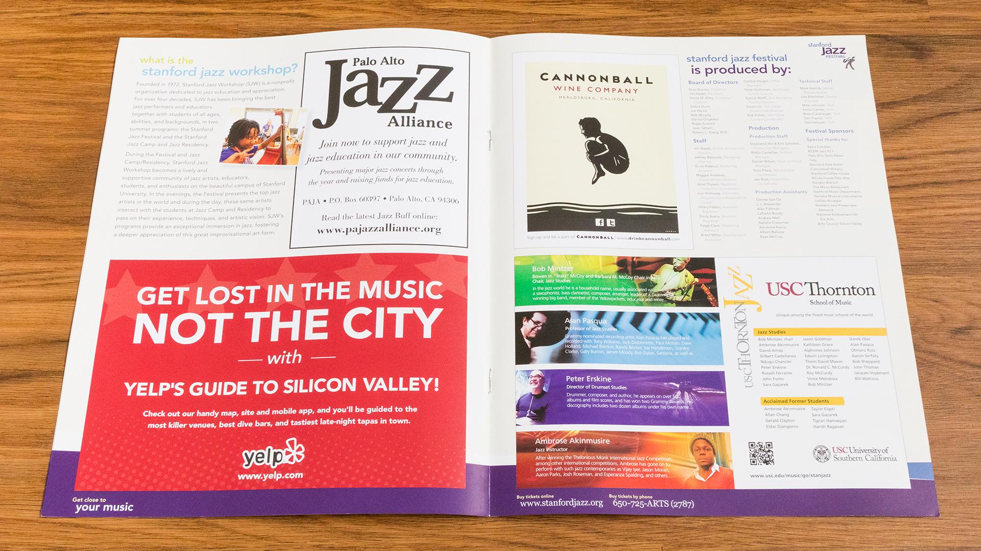 Print – Festival Program – Pages 3-4