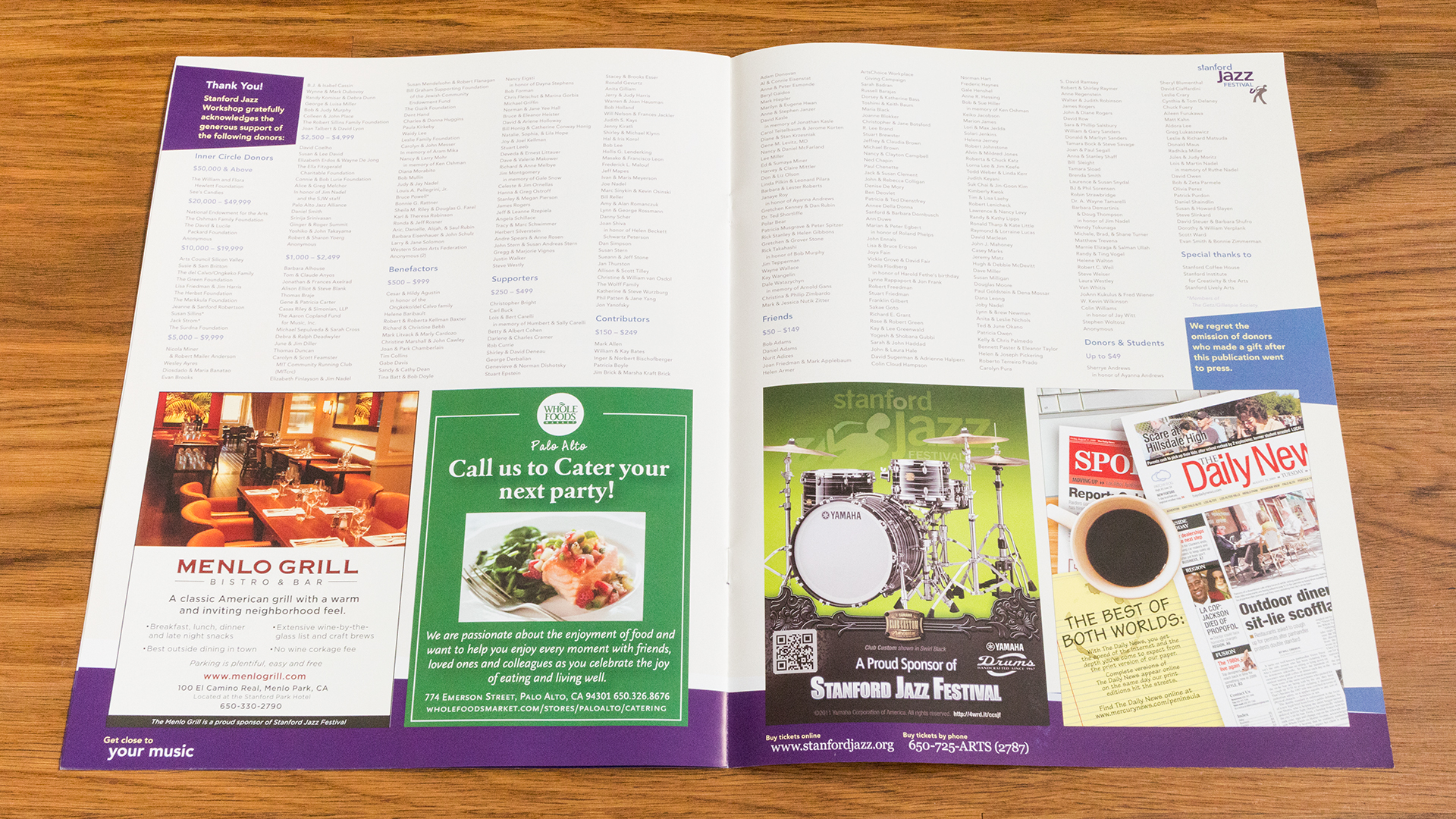 Print – Festival Program – Pages 5-6