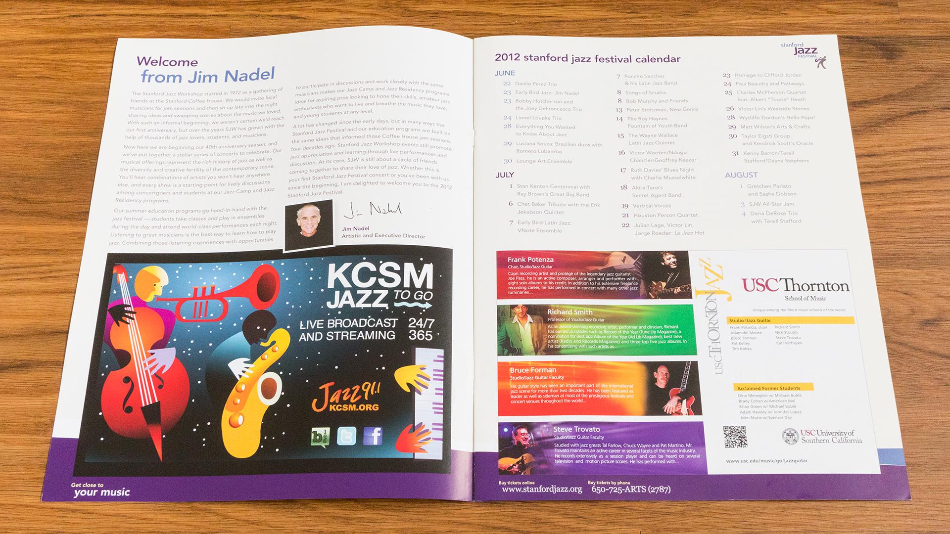 Print – Festival Program – Pages 1-2