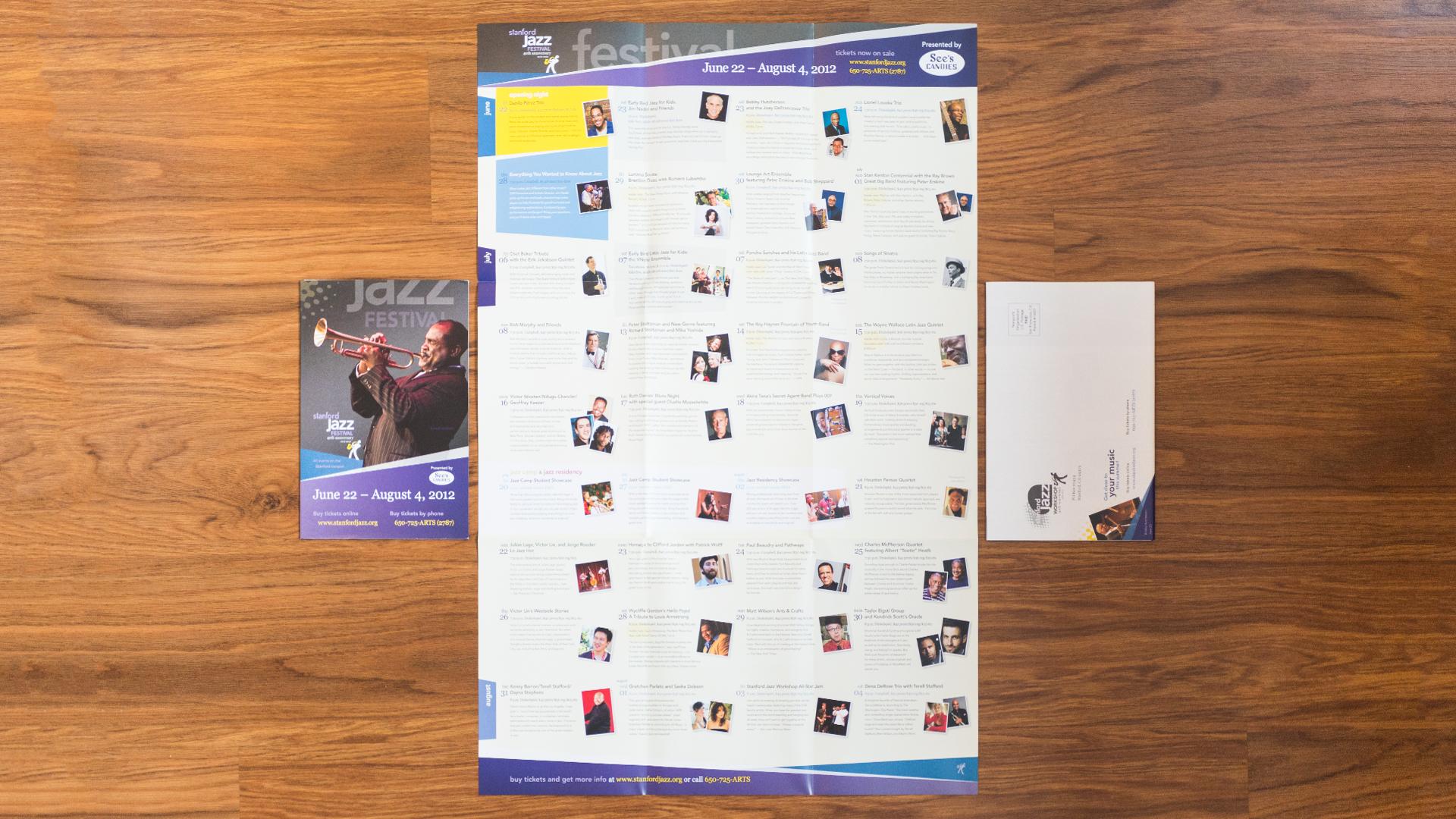 Print – Festival Mailer – Poster Side (Jazz Residency Recital Close-Up)